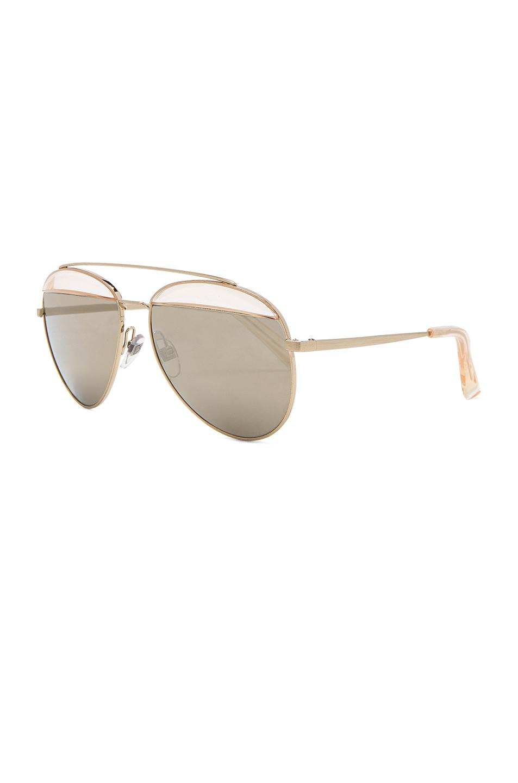 6ce52ad25d5 Oliver Peoples - Metallic X Alain Mikli Aviator Sunglasses - Lyst. View  fullscreen
