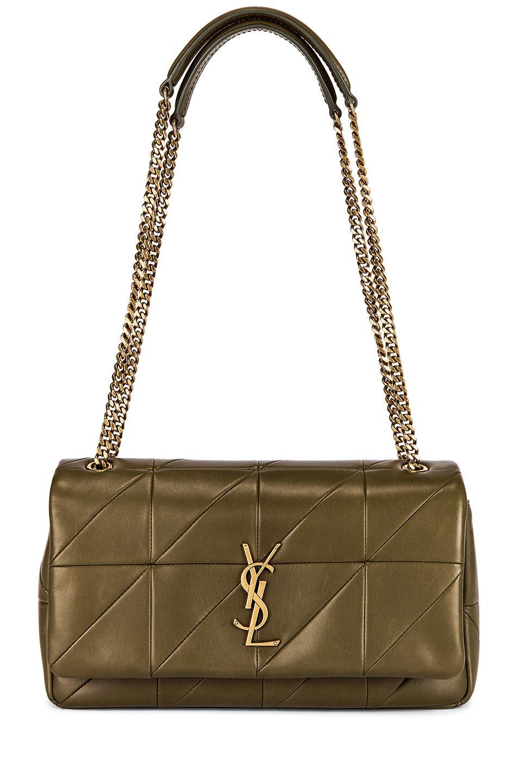 6aef057a876 Saint Laurent. Women's Small Jamie Chain Patchwork Bag