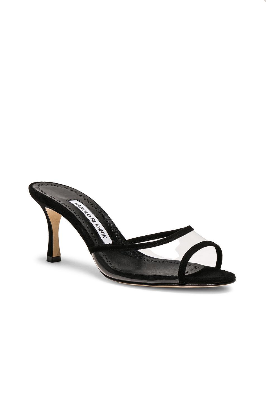 Manolo Blahnik PVC Sissavy Sandals in . 5aDm2t85xJ