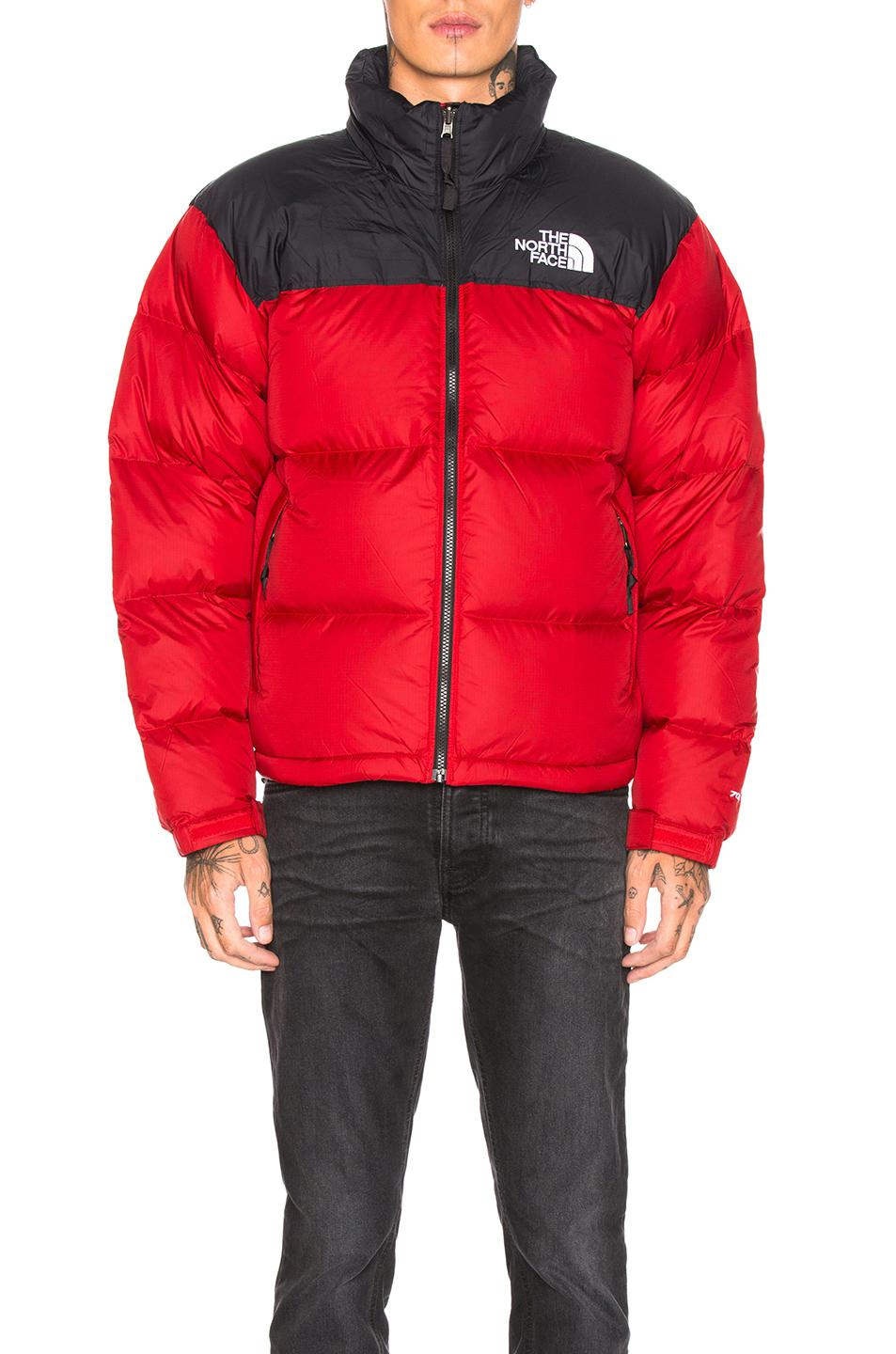 1c3ef4804d The North Face - Red 1996 Retro Nuptse Jacket for Men - Lyst. View  fullscreen