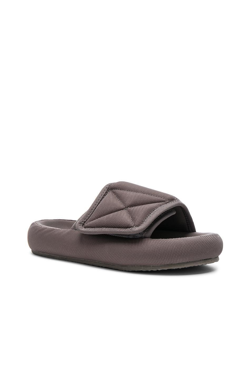 1fa1776d951 Lyst - Yeezy Season 6 Nylon Canvas Slippers in Brown