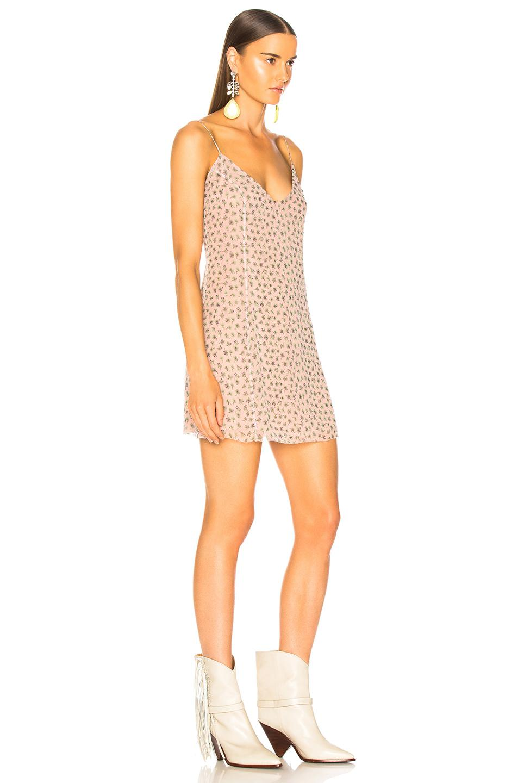 4e471cb1f1fed Amiri - Pink Floral Print Slip Dress - Lyst. View fullscreen