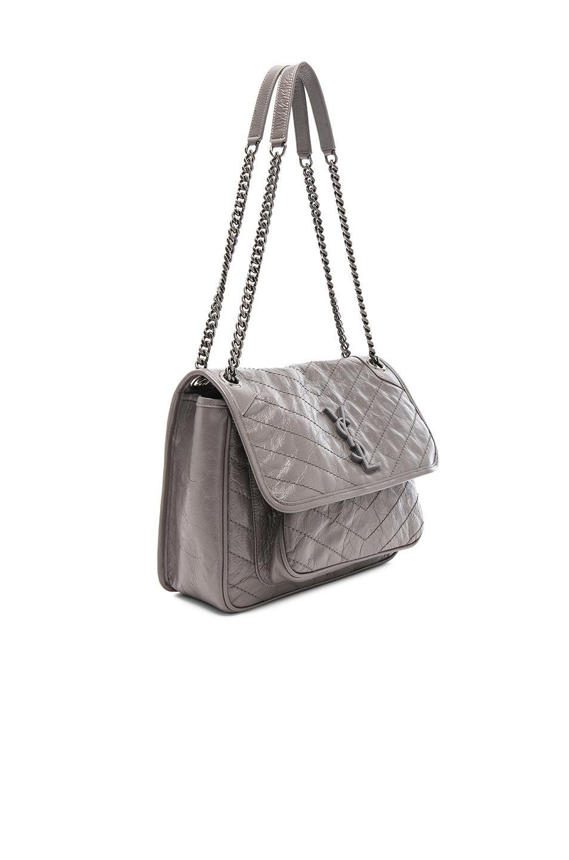Lyst Saint Laurent Medium Niki Monogramme Chain Bag