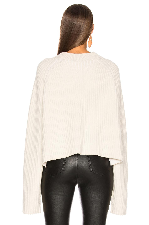cc02d72e92aca Proenza Schouler - White Cashmere Blend Mockneck Sweater - Lyst. View  fullscreen