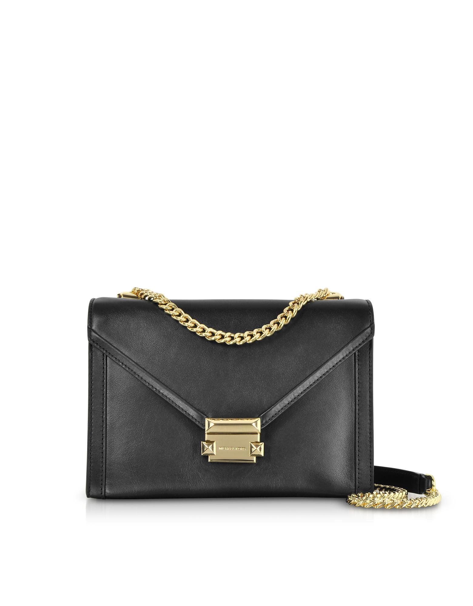 79f21dc5dbe7 Michael Kors. Women's Black Whitney Large Leather Convertible Shoulder Bag