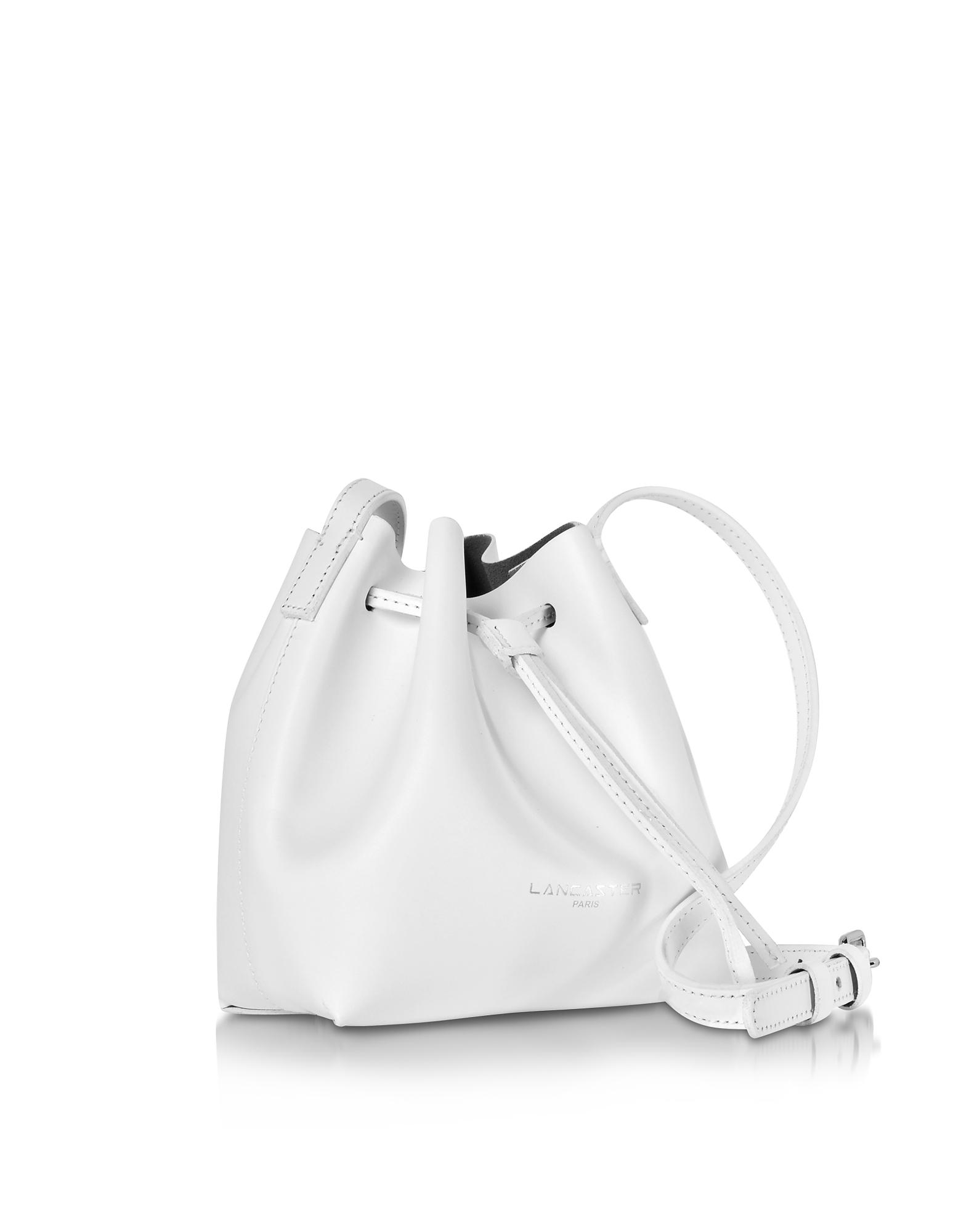 Lancaster Handbags, Pur Smooth Optic Leather Mini Bucket Bag