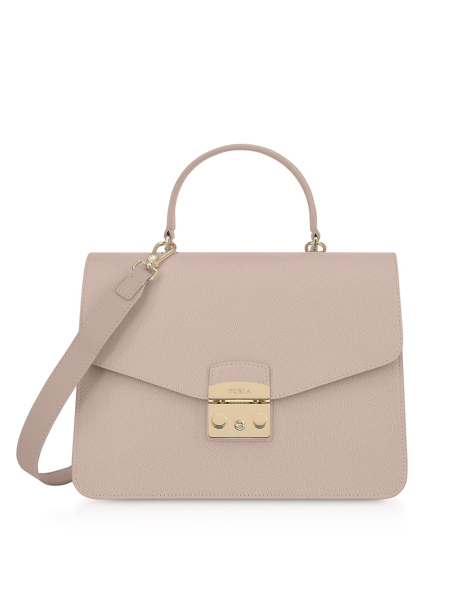 cdc8d75e7c451 Furla - Pink Dalia Metropolis M Top Handle Satchel Bag - Lyst. View  fullscreen