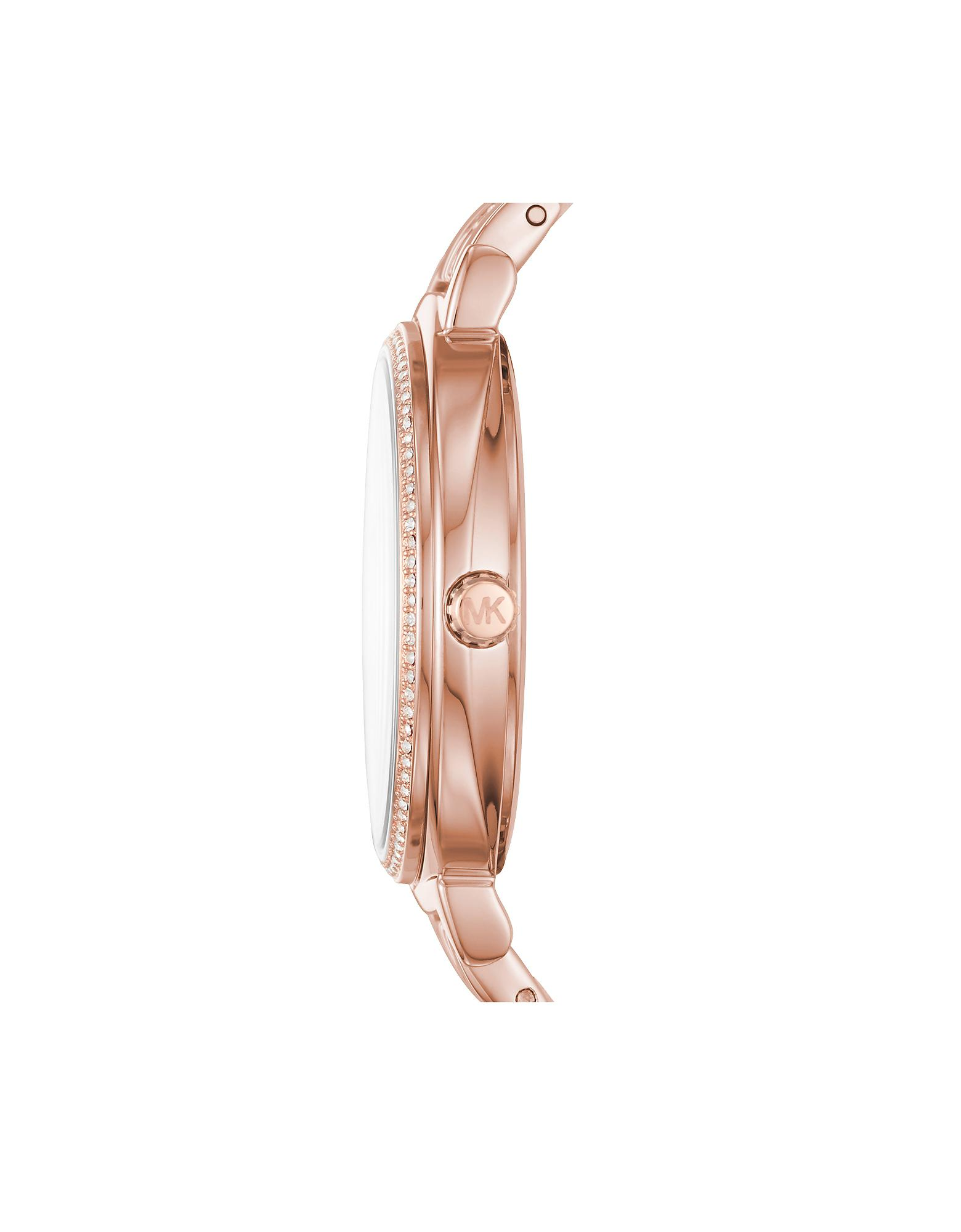 c2d3dd485090 Lyst - Michael Kors Cinthia Rose Gold-tone Women s Watch in Pink