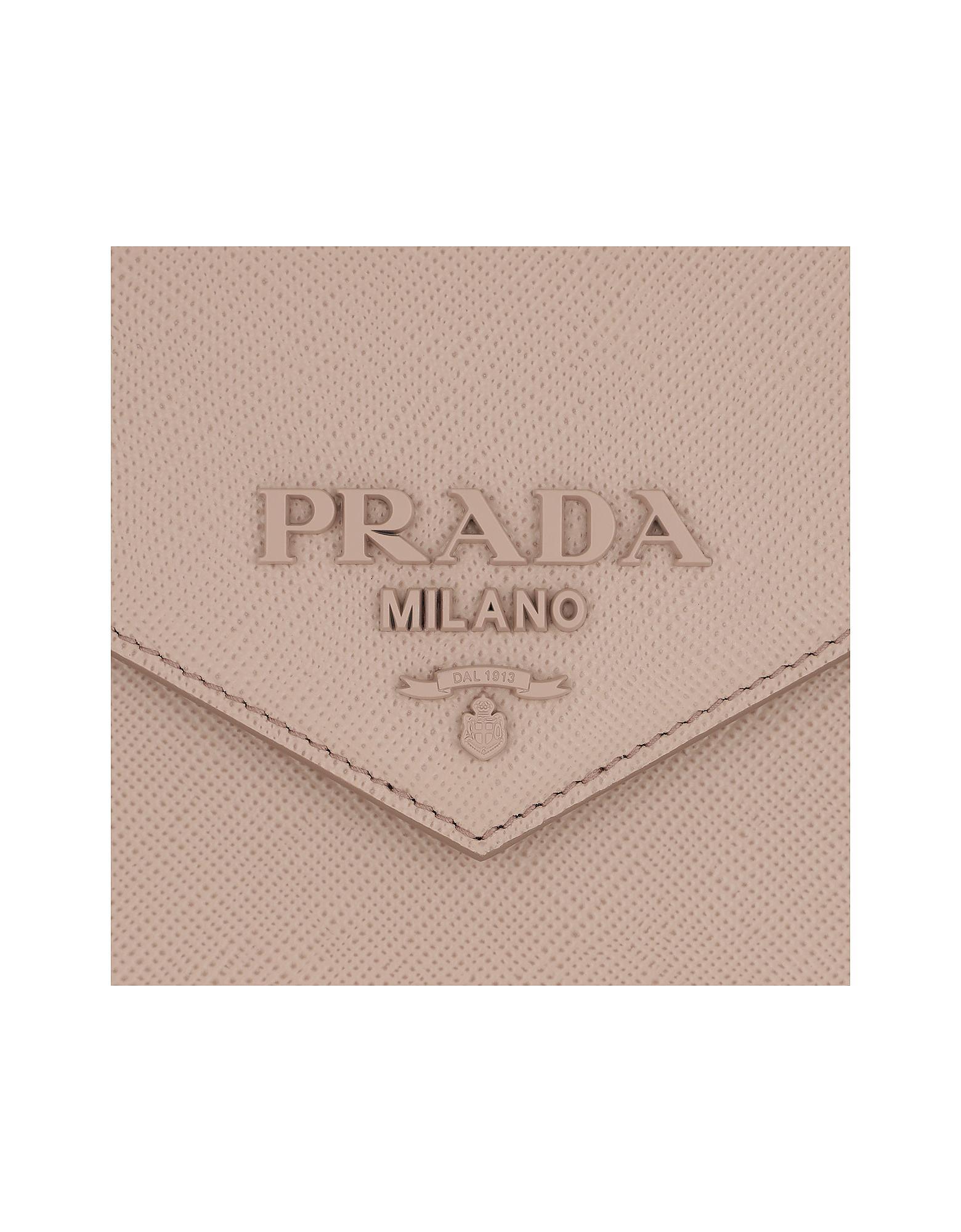 63154789a2d667 Prada Monochrome Crossbody Bag Medium Cipria in Natural - Lyst