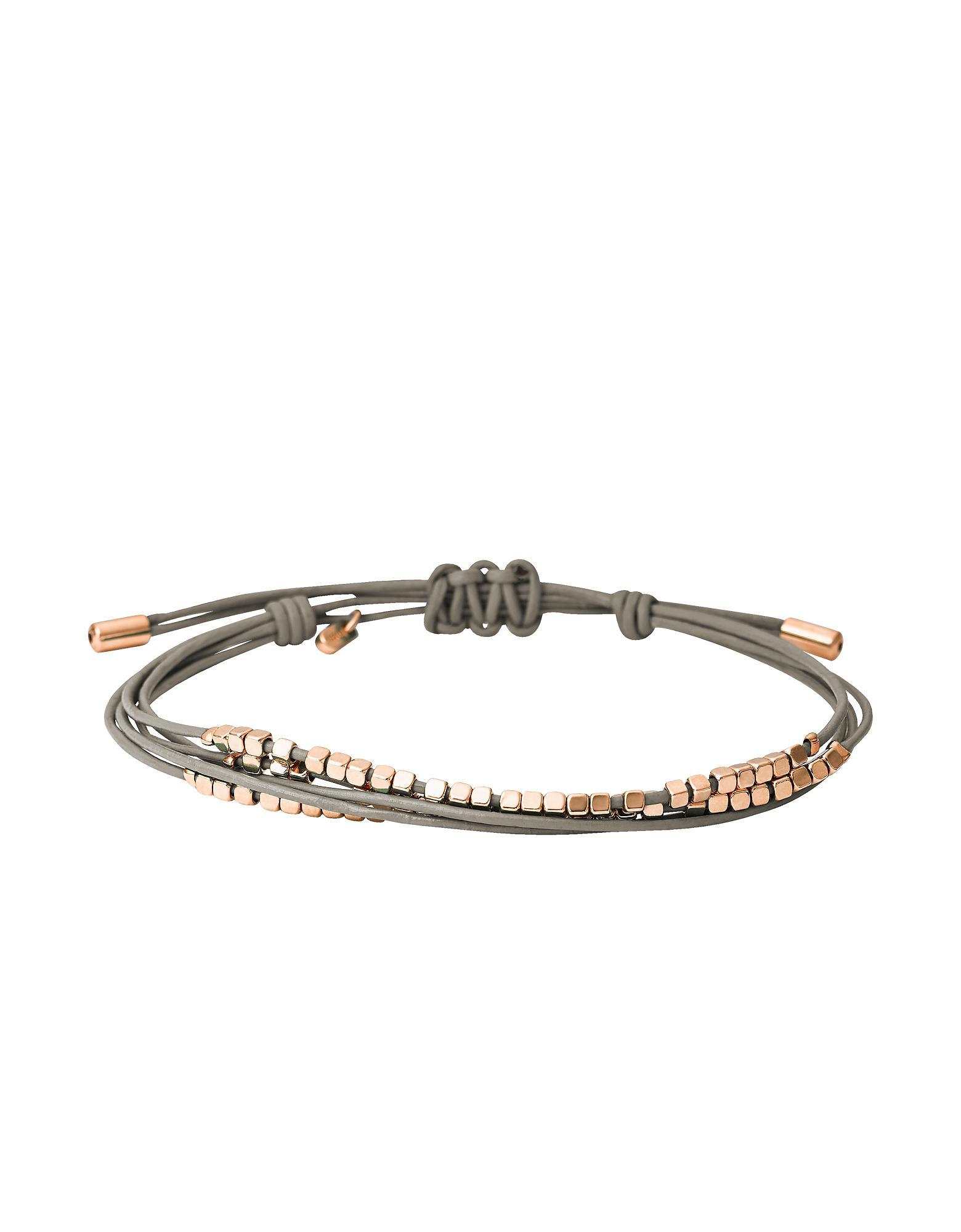 Fossil Women's Grey Bracelet JA6534791 0Yw61R8mf