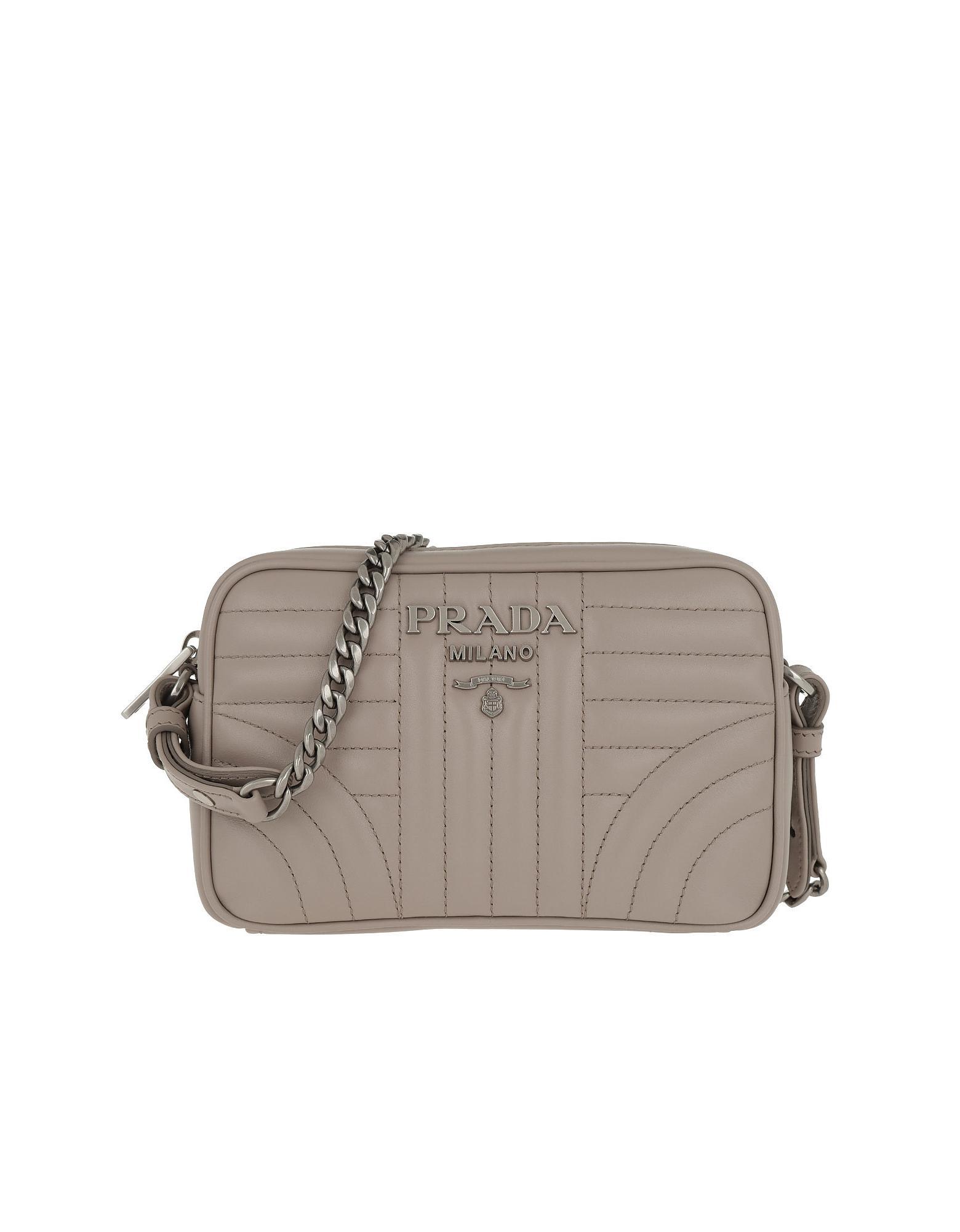 078dd5234bda Lyst - Prada Diagramme Crossbody Bag Leather Pomice 2 in Pink