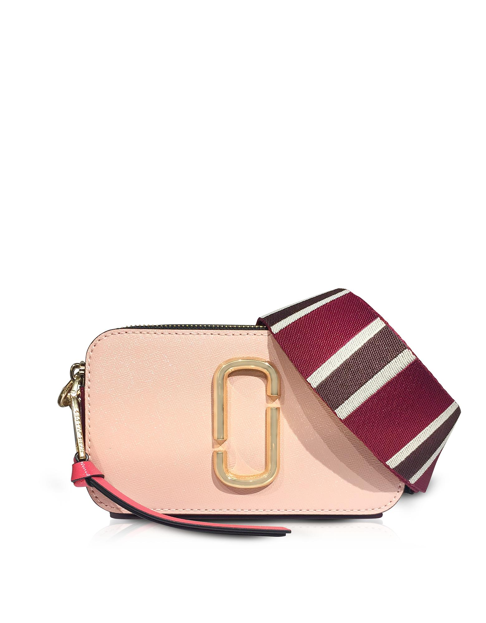 c1c1afd20a70 Lyst - Marc Jacobs Rose Multi Color Block Snapshot Camera Bag in Pink