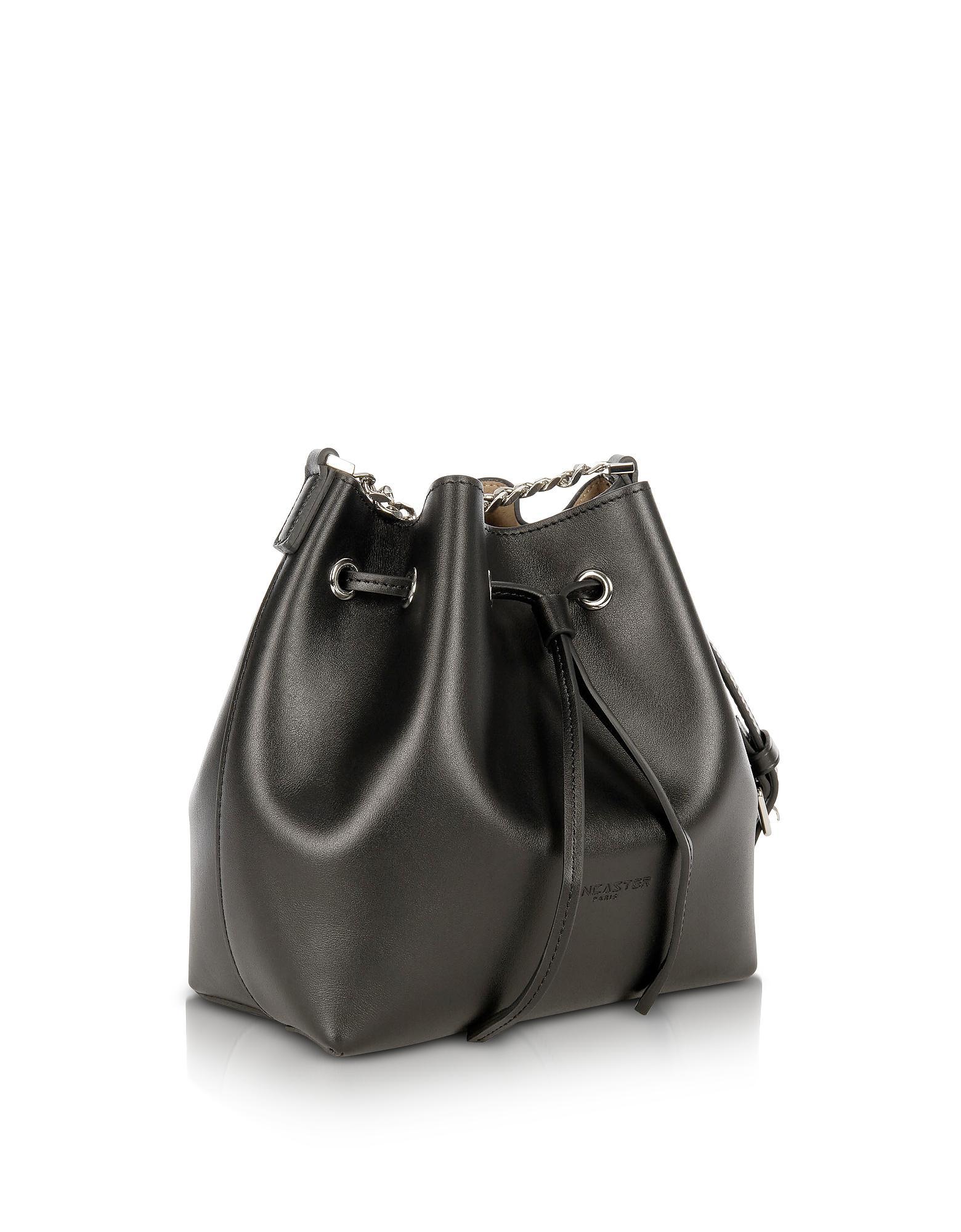 de6319617658 Lancaster Paris Pur Treasure Small Bucket Bag in Black - Lyst