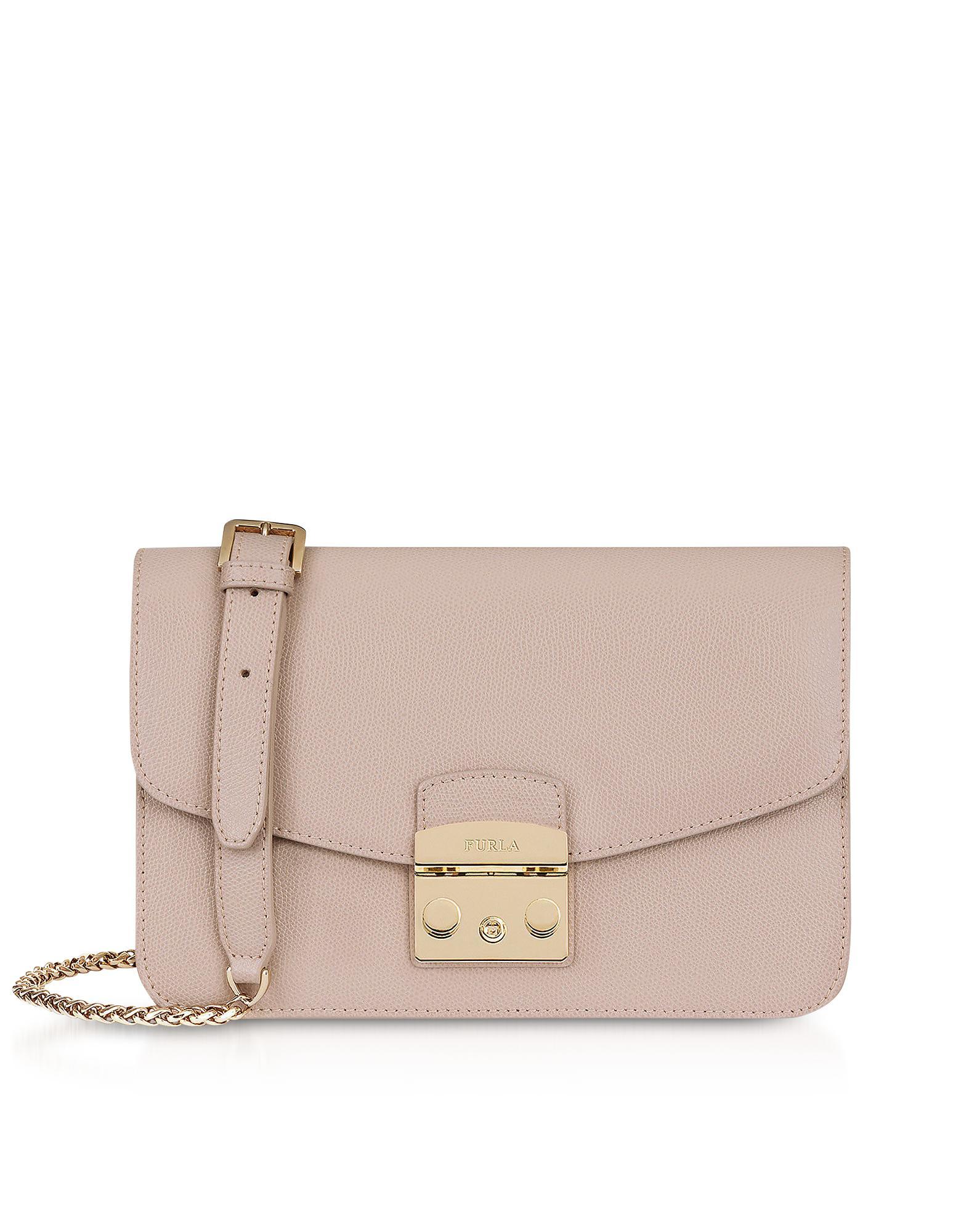 73e58c5ab54e3 Lyst - Furla Dalia Metropolis S Shoulder Bag in Pink