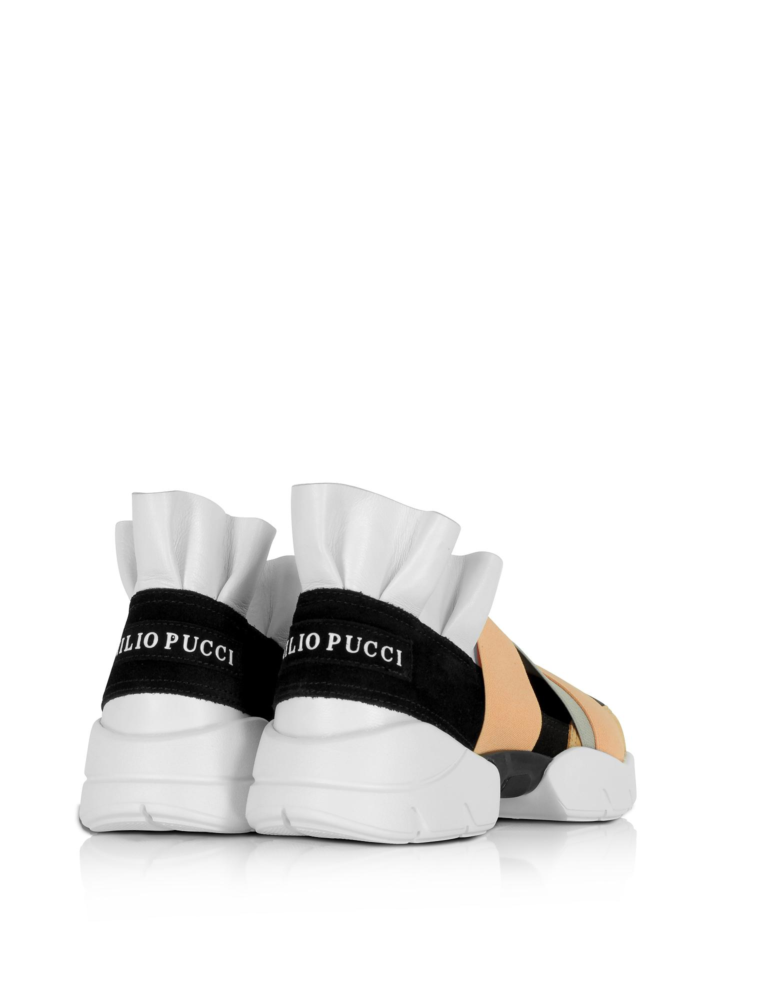 sale store Emilio Pucci Black Leather Platform Sneakers sale 100% guaranteed sale best sale clearance online JyMwg4b