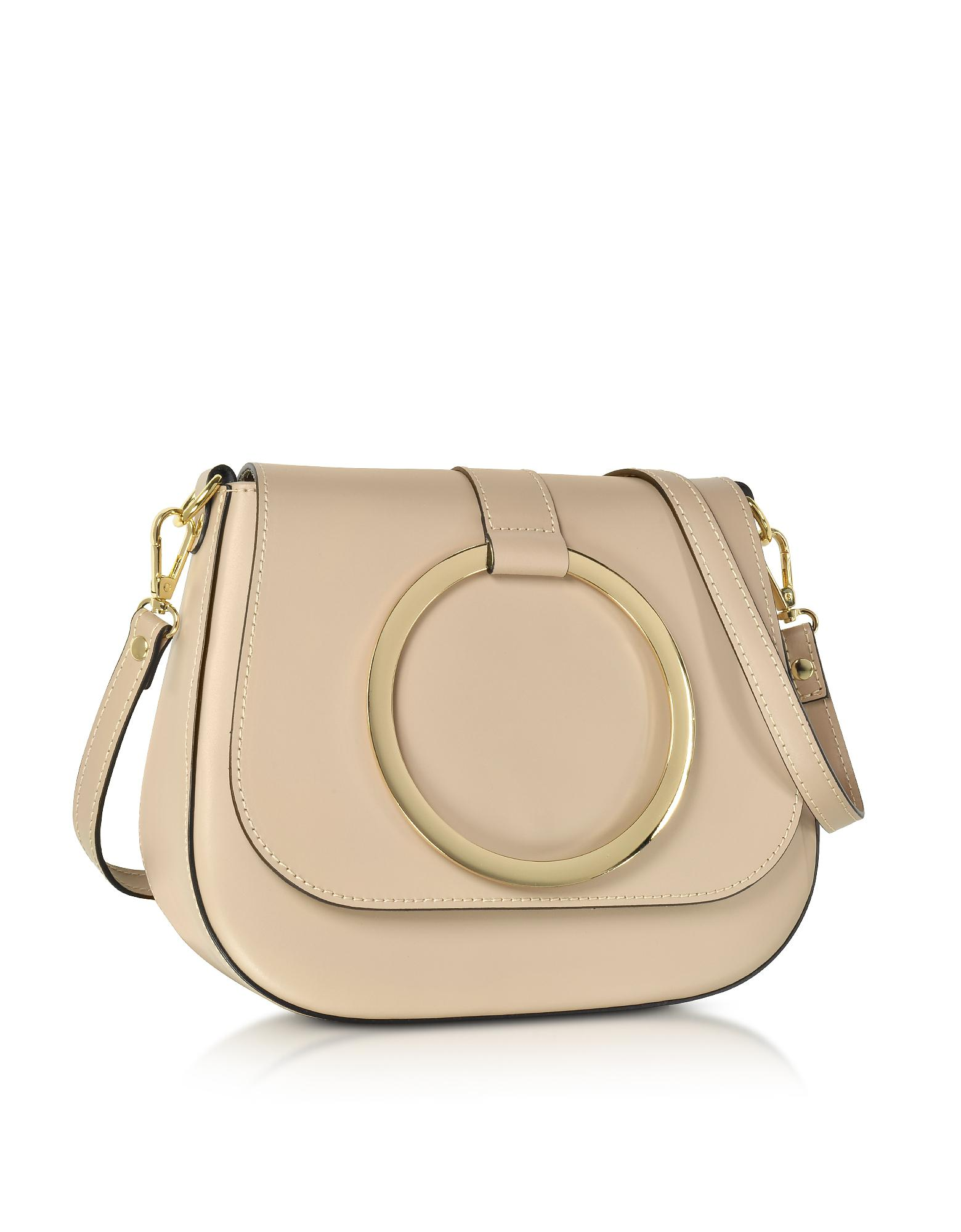 6d7b9b96eed Le Parmentier Nude Smooth Leather Shoulder Bag in Natural - Save  2.6455026455026456% - Lyst