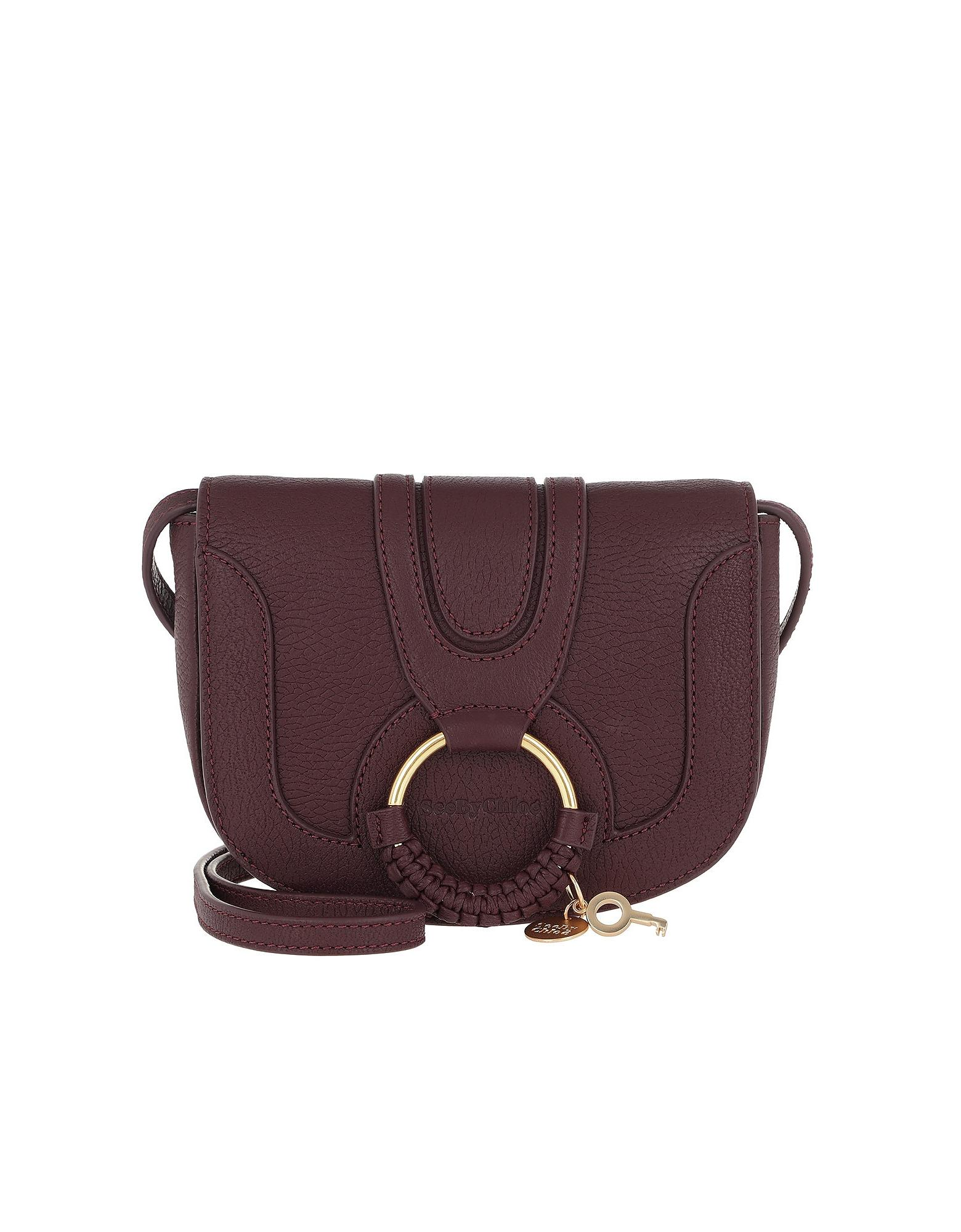 9550f162bf88 See By Chloé Hana Mini Crossbody Bag Obscure Purple in Purple - Save ...