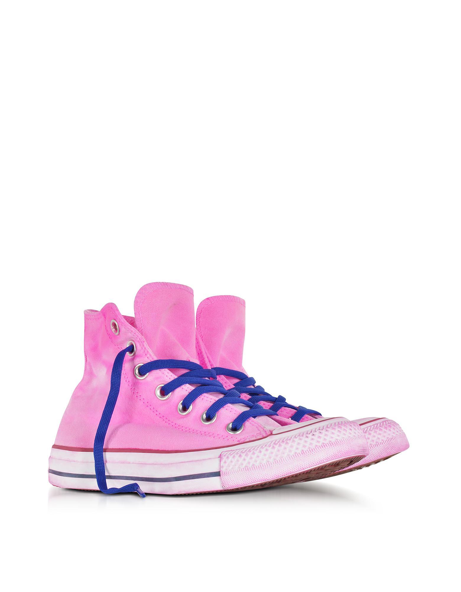 2b83e056ea30 Converse Chuck Taylor All Star Hi Neon Fuchsia Canvas Ltd Sneakers ...