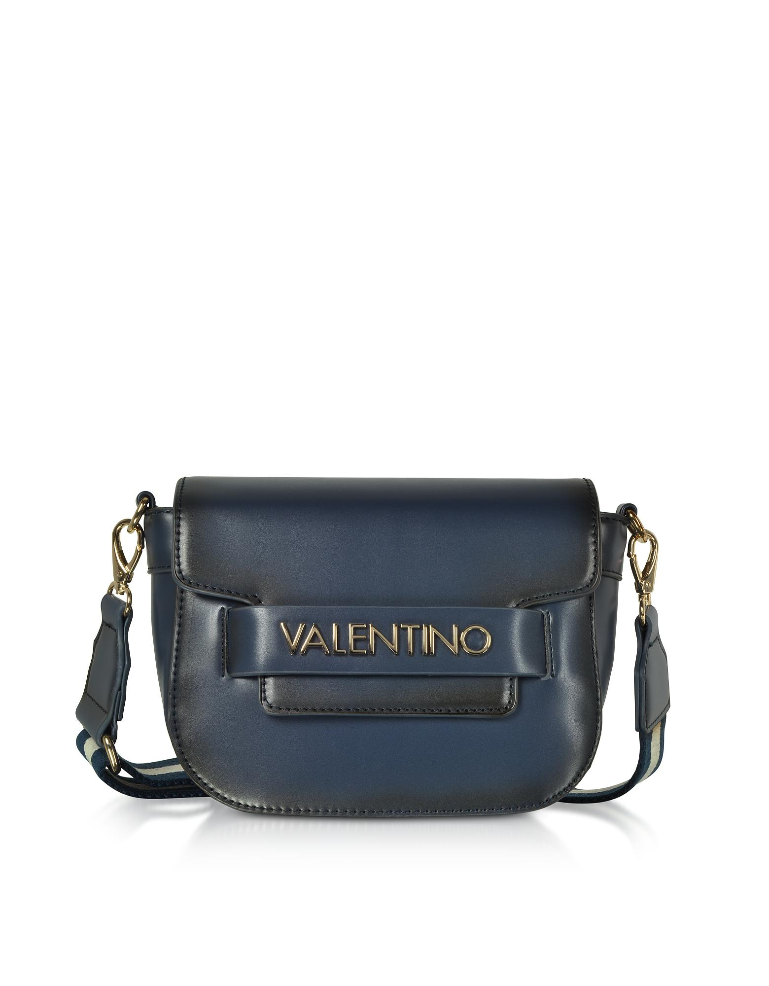 818128a3889c Lyst - Valentino By Mario Valentino Eco Leather Blast Small Shoulder ...