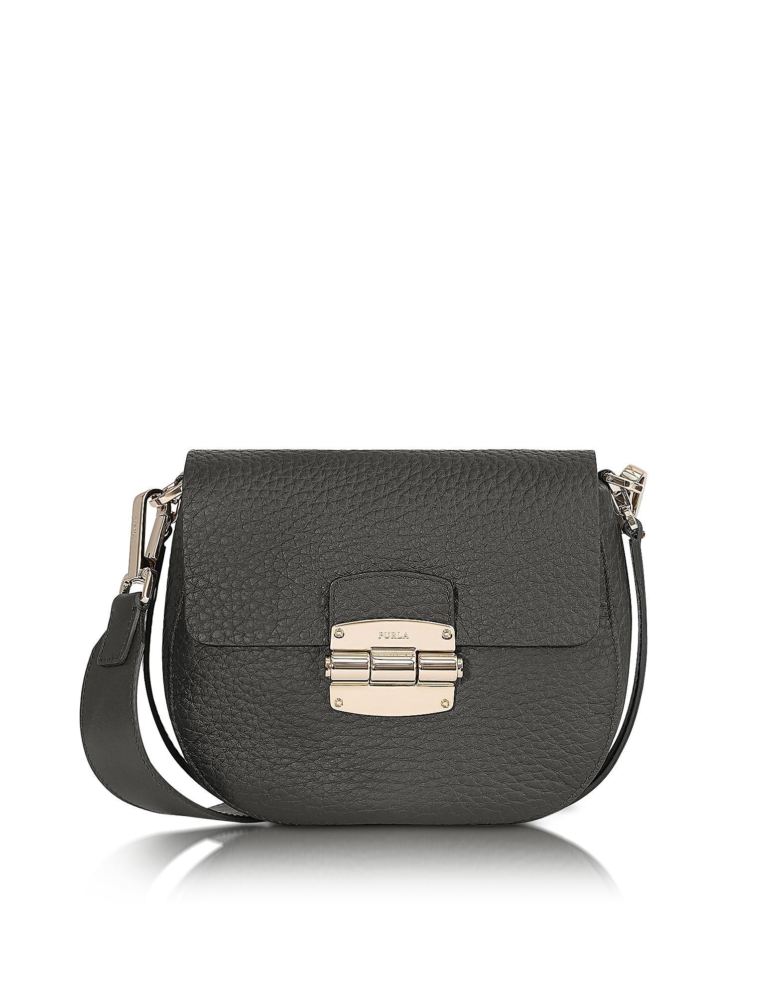 Furla Club S leather shoulder bag ZShXS0X3CU