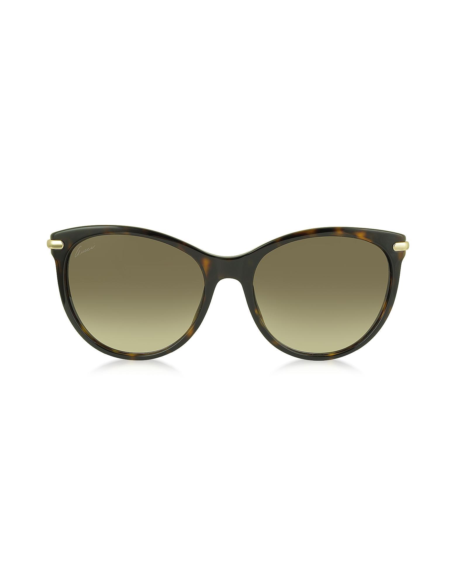 b5f30c21d5 Gucci Bamboo Cat Eye 3771 s Sunglasses Black