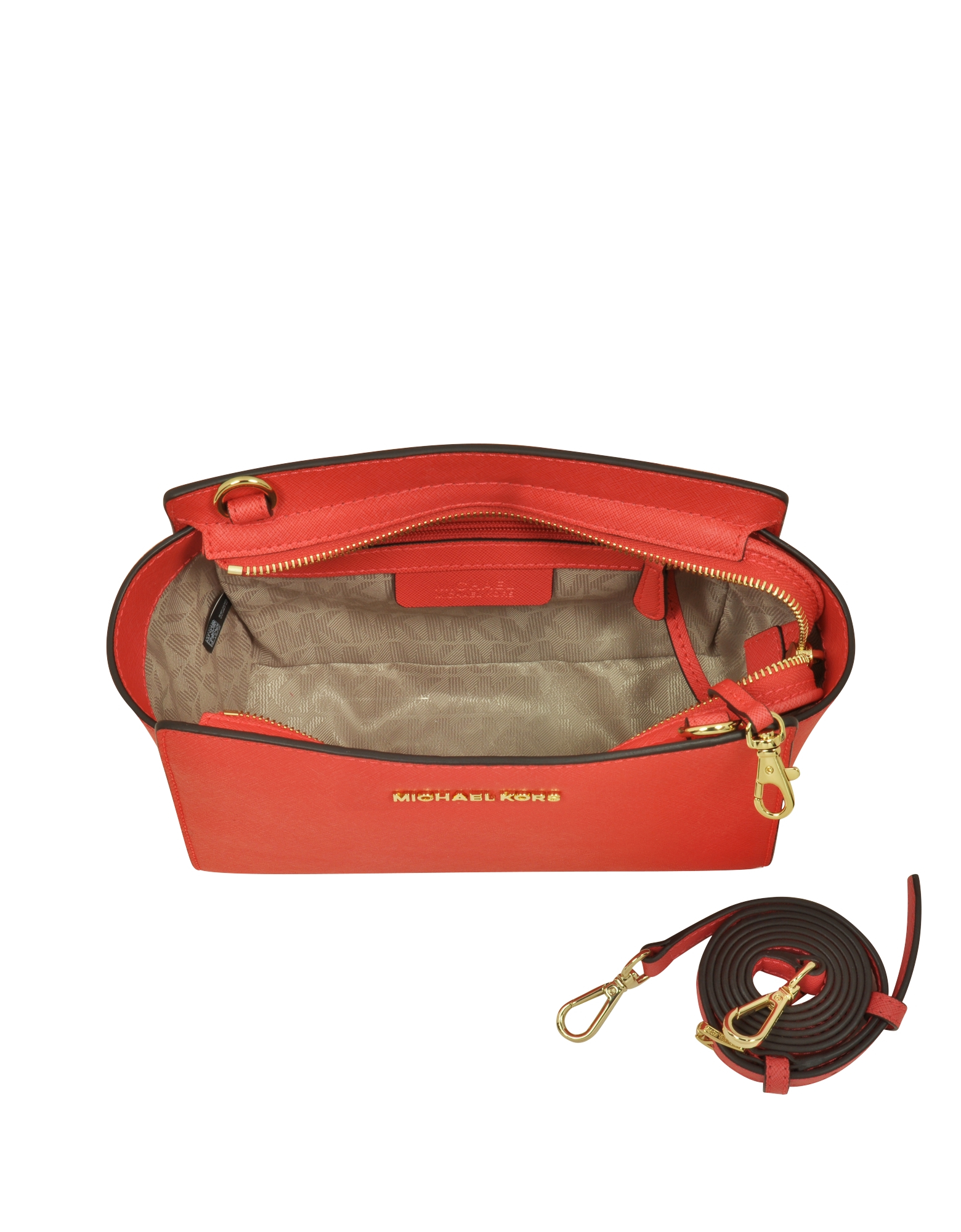409f6f9c8648d0 ... promo code for michael kors selma medium coral reef saffiano leather  messenger bag 51b36 25325