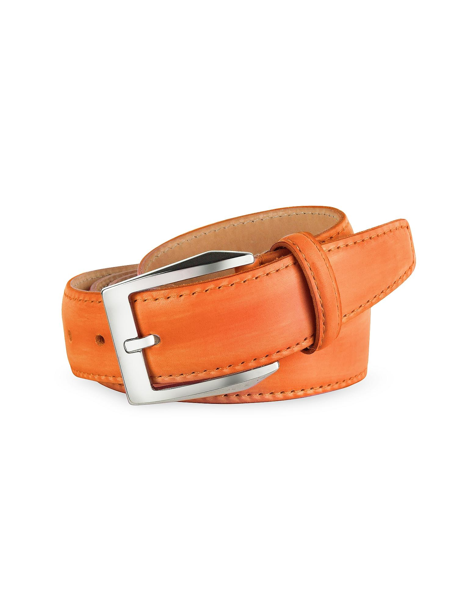 Custom Painted Leather Belts