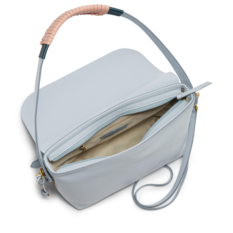 e264ae41a Fossil - Maya Crossbody Handbag Horizon Blue - Lyst. View fullscreen