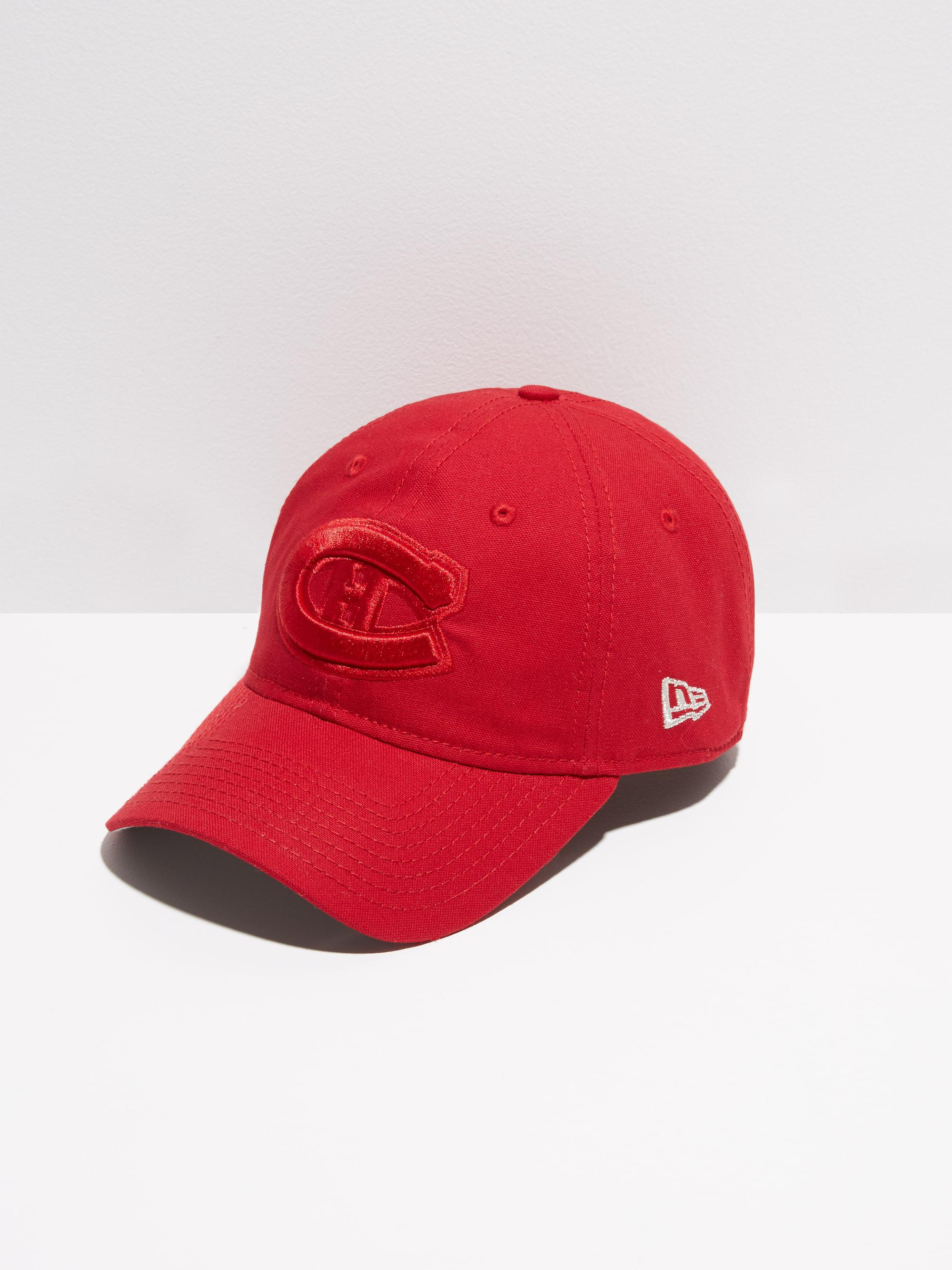 Lyst - Frank And Oak Montreal Canadiens Special Edition Cap In Red ... 2119b5ce1771