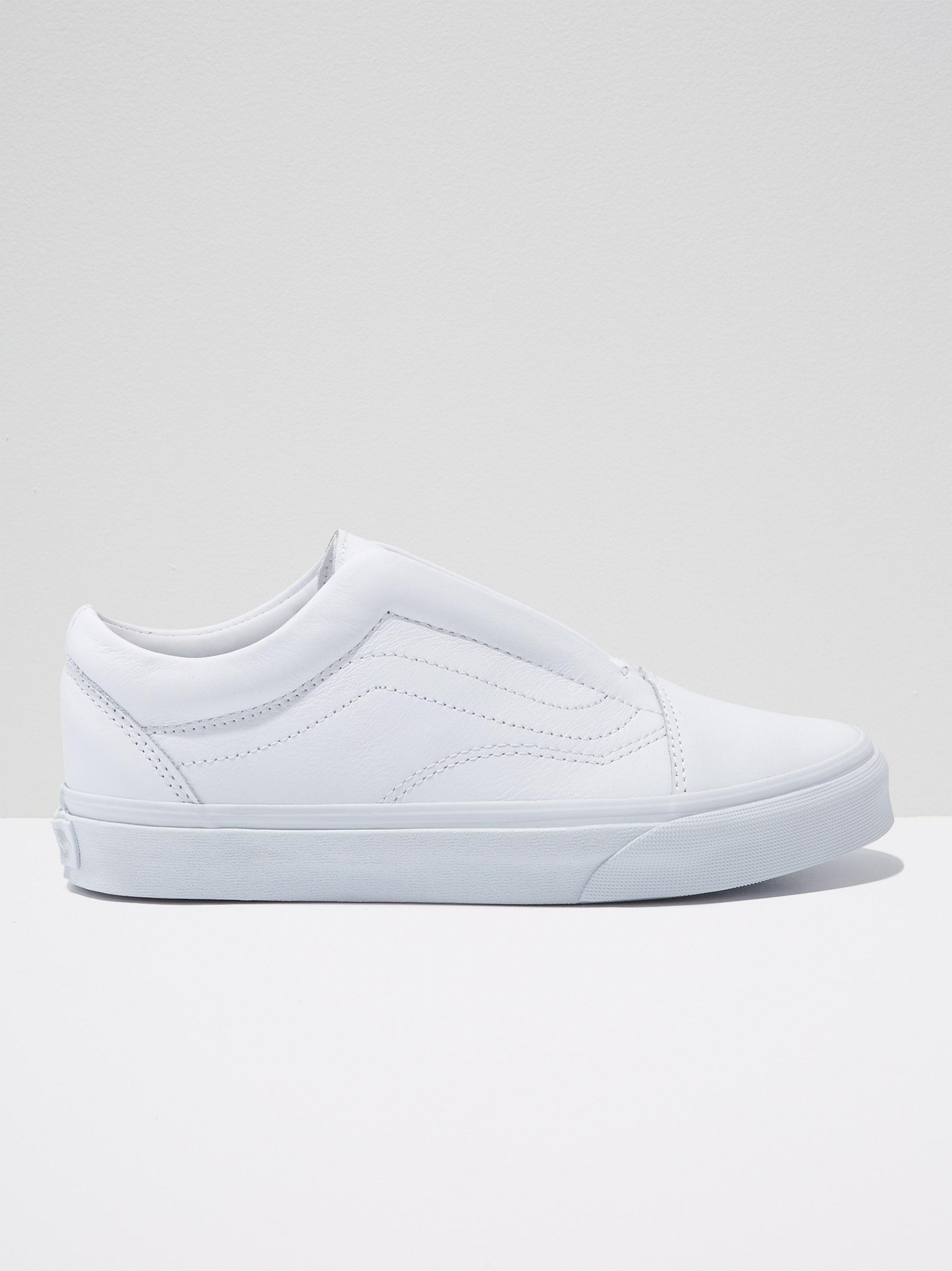 236ae3f734 Lyst - Frank And Oak Vans Old Skool Laceless Dx In White in White ...