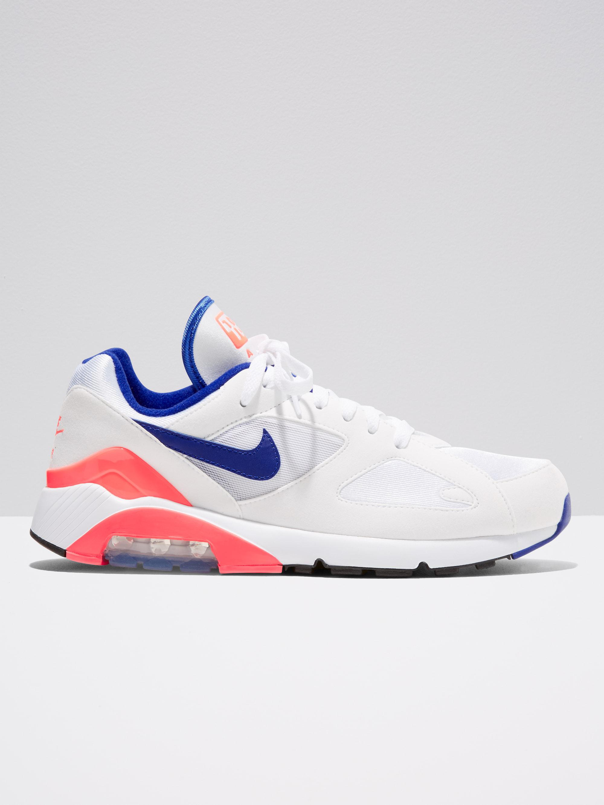af4e3c7a268d ... promo code for lyst frank and oak nike men air max 180 in white  ultramarine solar ...