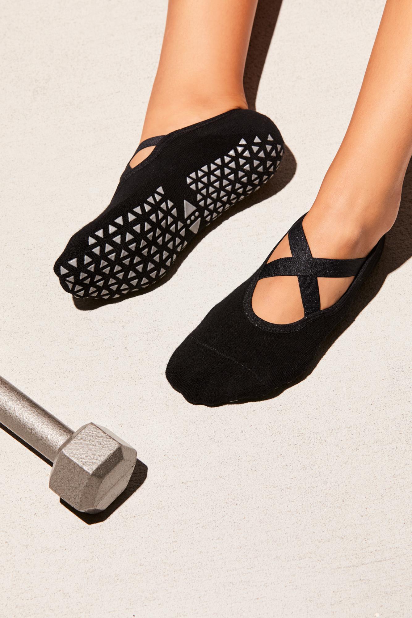18de2f07e Free People Chloe Studio Sock By Tavi Noir in Black - Lyst