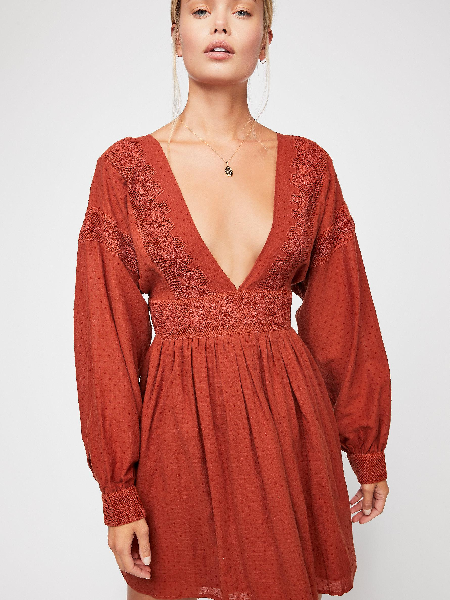 2919be9a569 Free People Sugarpie Mini in Red - Lyst