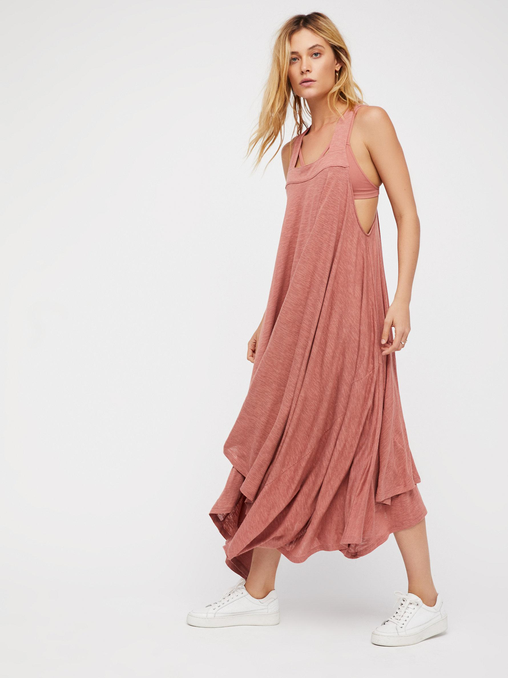 Lyst - Free People Double Trouble Maxi Dress