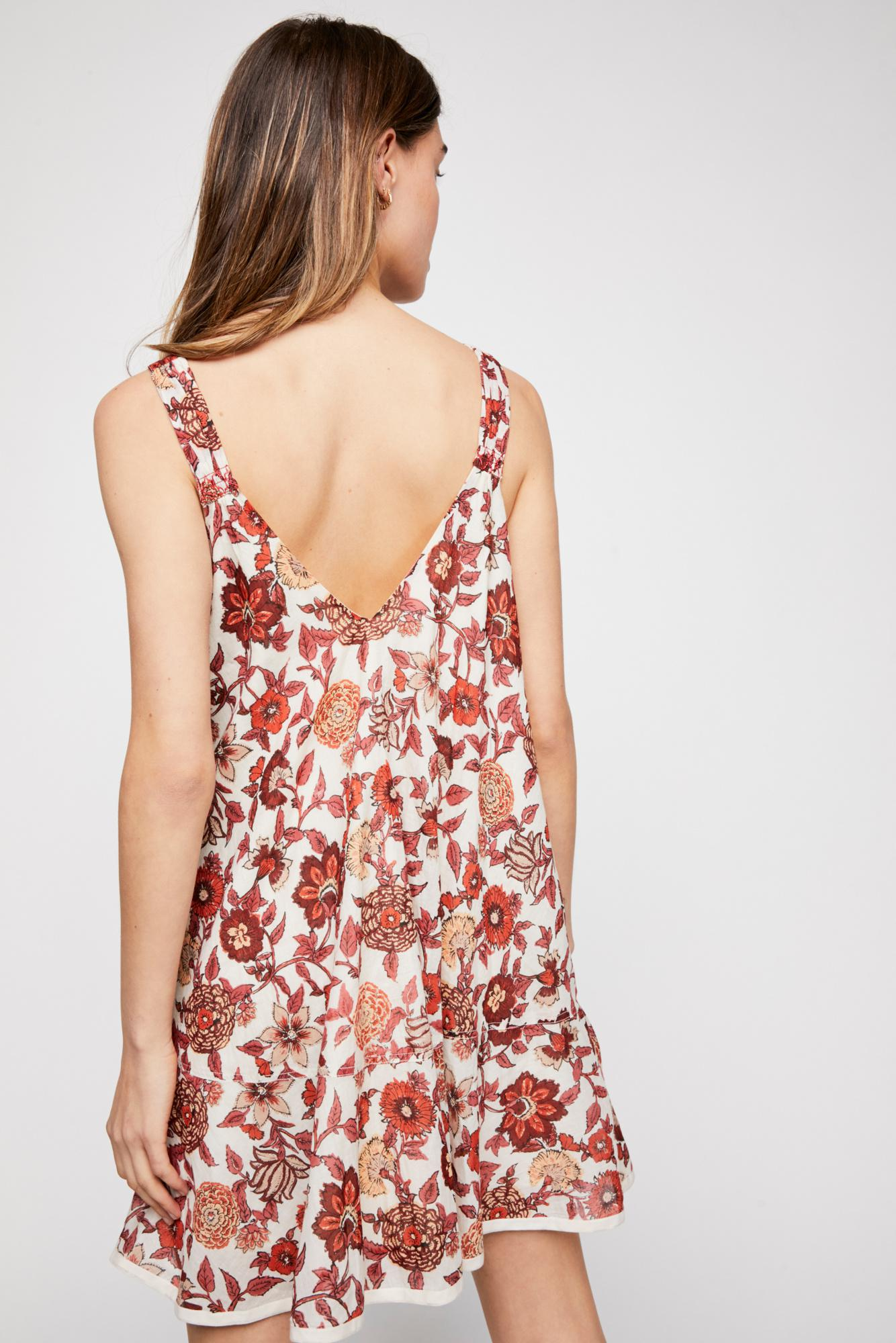 4cc3bc8babd7 Free People Oh Baby Mini Dress in White - Lyst