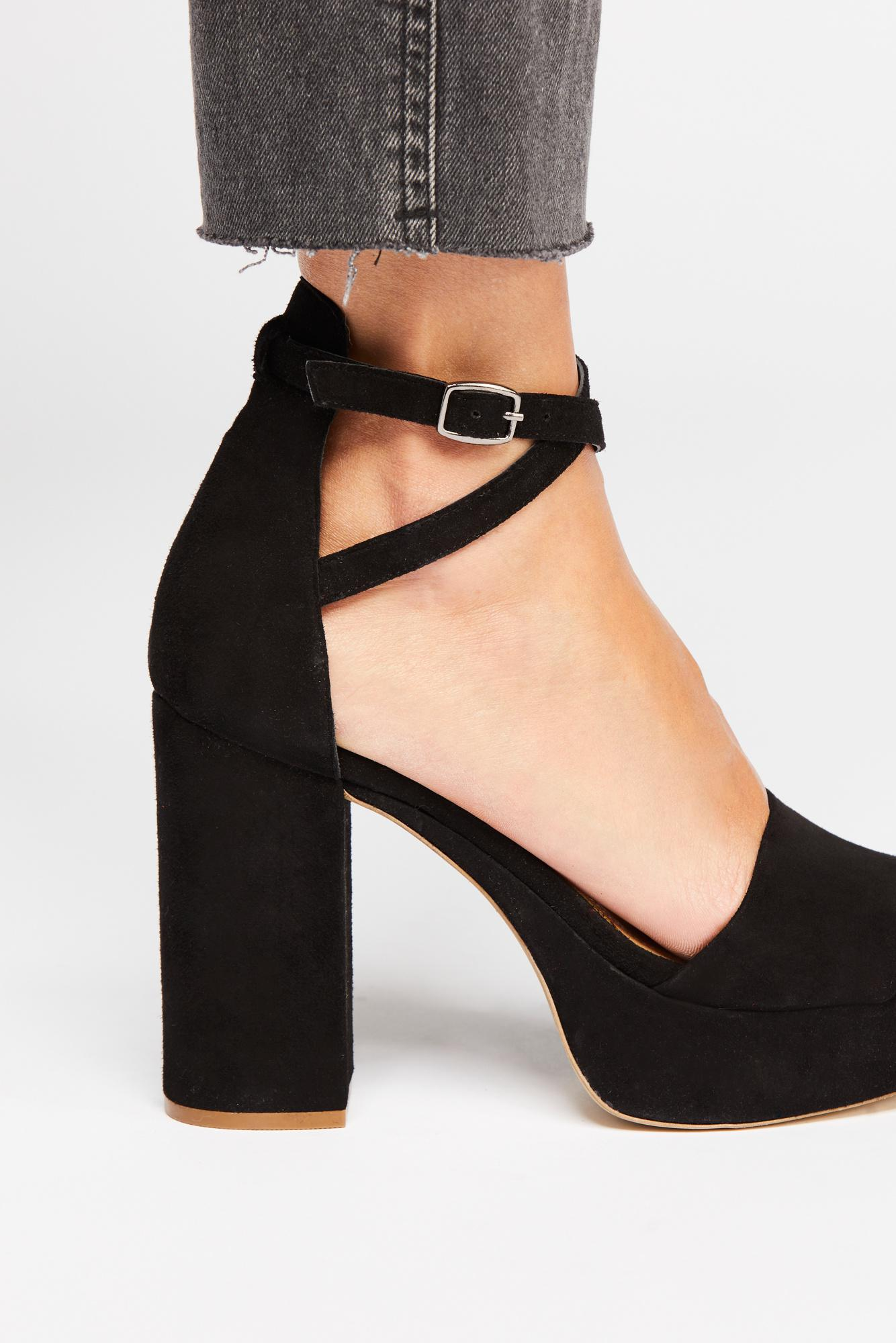 d971201da12 Free People Bianca Platform By Fp Collection in Black - Lyst