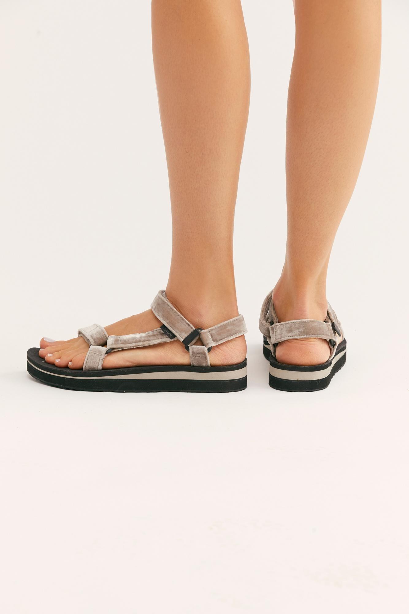b41f30afa90 Free People - Metallic Midform Universal Holiday Sandal By Teva - Lyst.  View fullscreen