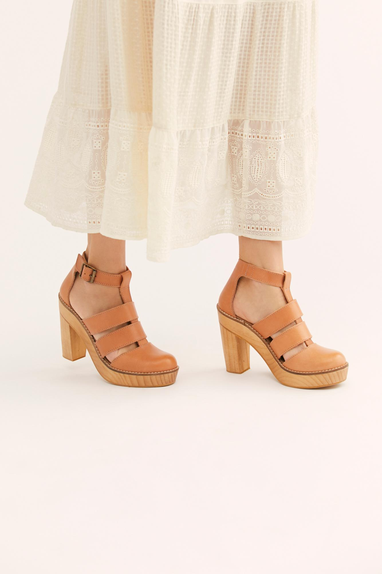 6f5b0e9e98c Free People Mix It Up Platform By Fp Collection in Natural - Lyst