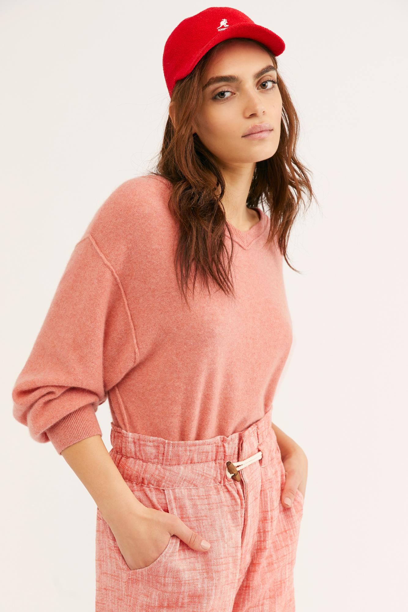 7d6d7a959b6 Free People. Women s Love Like This Cashmere Pullover