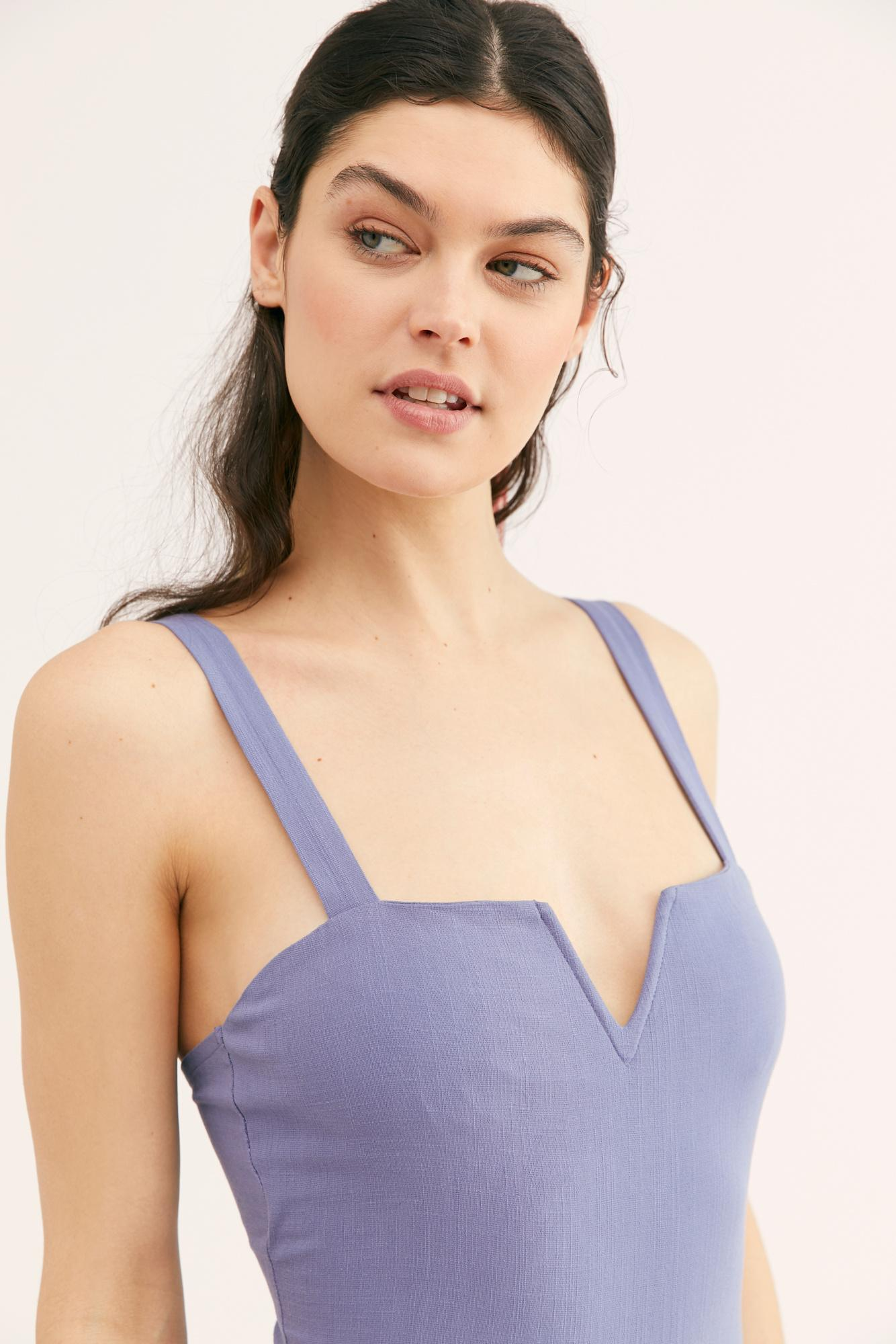 b18b331fdf Free People - Multicolor Pippa V-wire Bodysuit By Intimately - Lyst. View  fullscreen