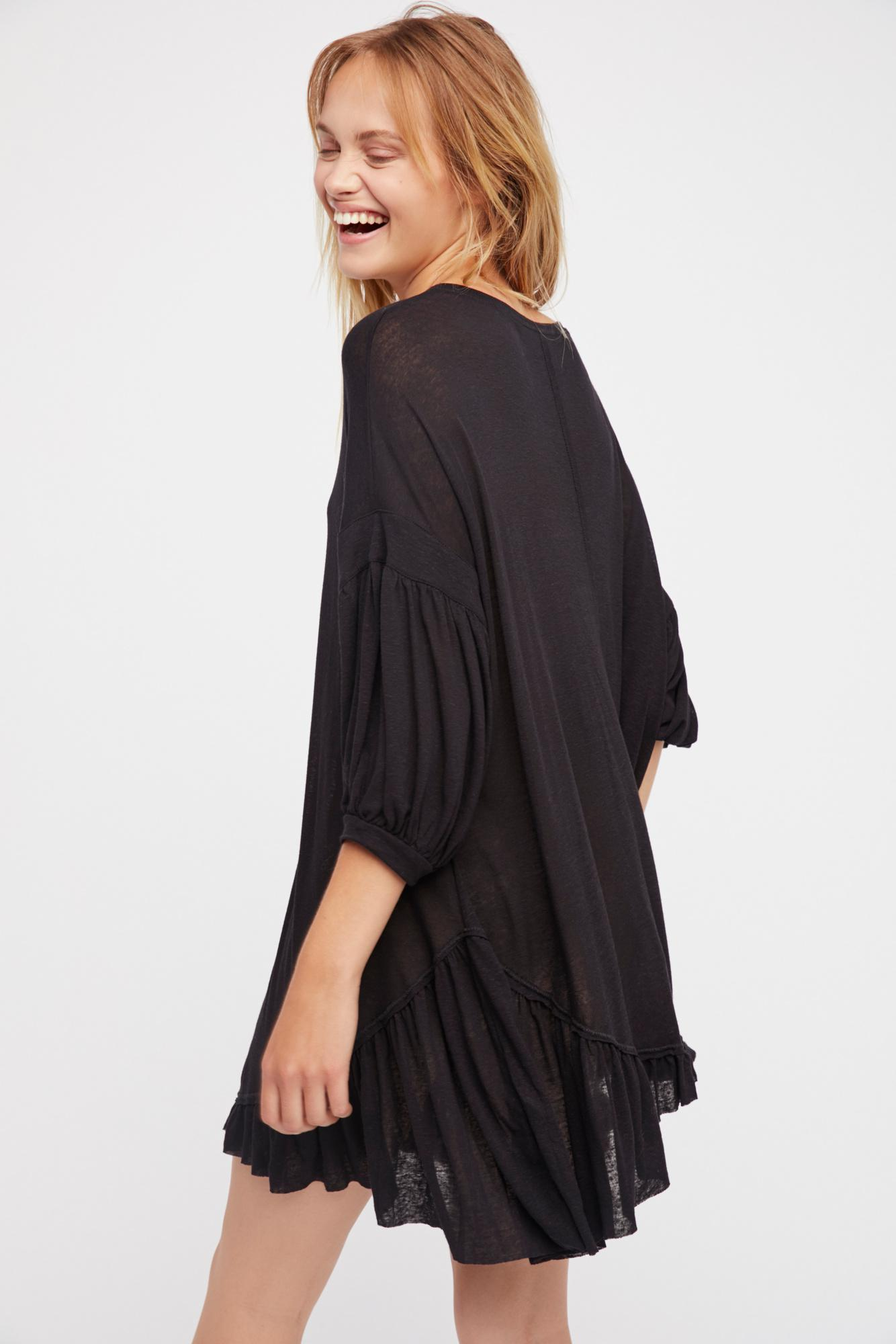 5f067caff50 Free People - Black Riverside Tunic By Fp Beach - Lyst. View fullscreen