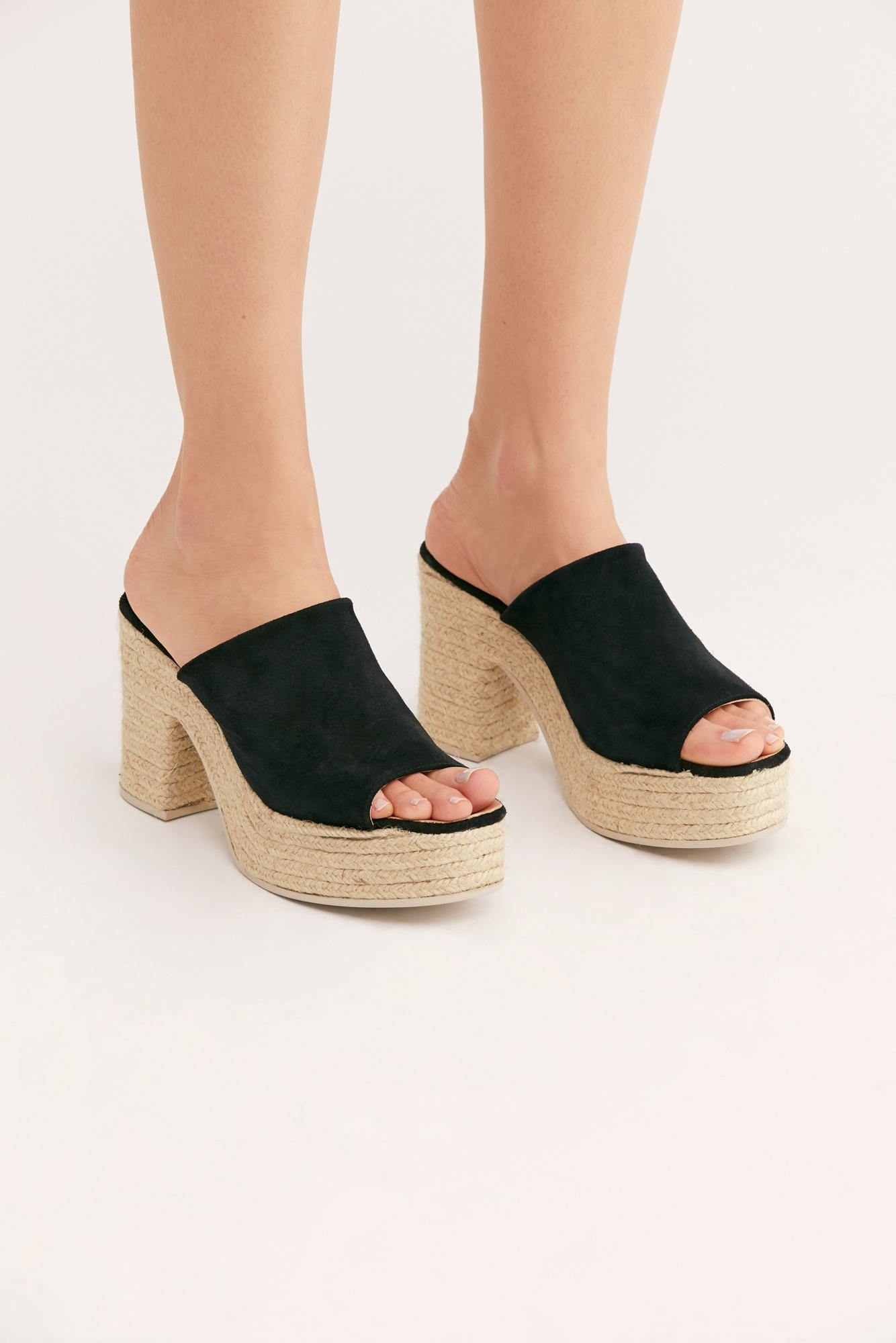 e885a73a082 Free People Larisa Espadrille Platform By Fp Collection in Black ...