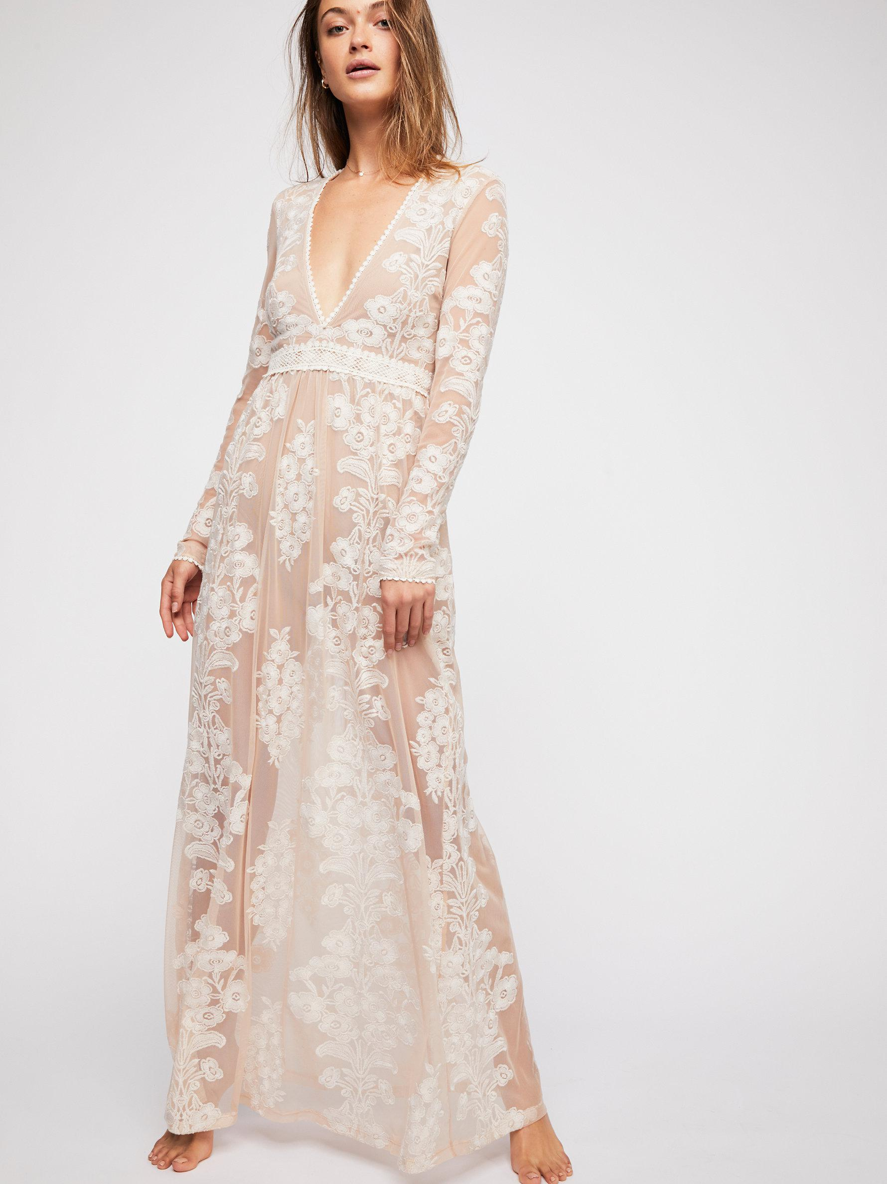 Lyst Free People Temecula Maxi Dress By For Love