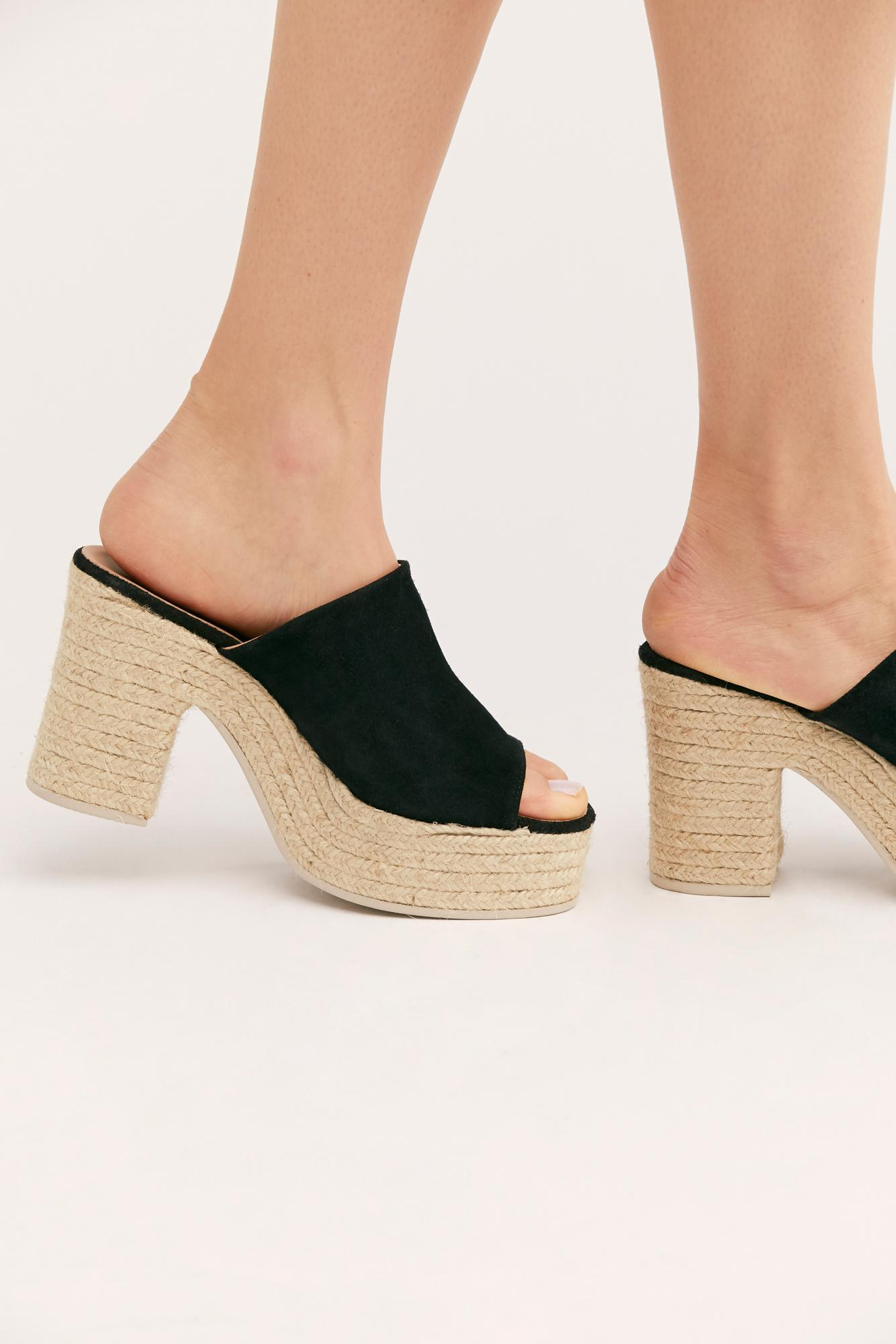 52b095b6a3a9 Free People - Black Larisa Espadrille Platform By Fp Collection - Lyst.  View fullscreen