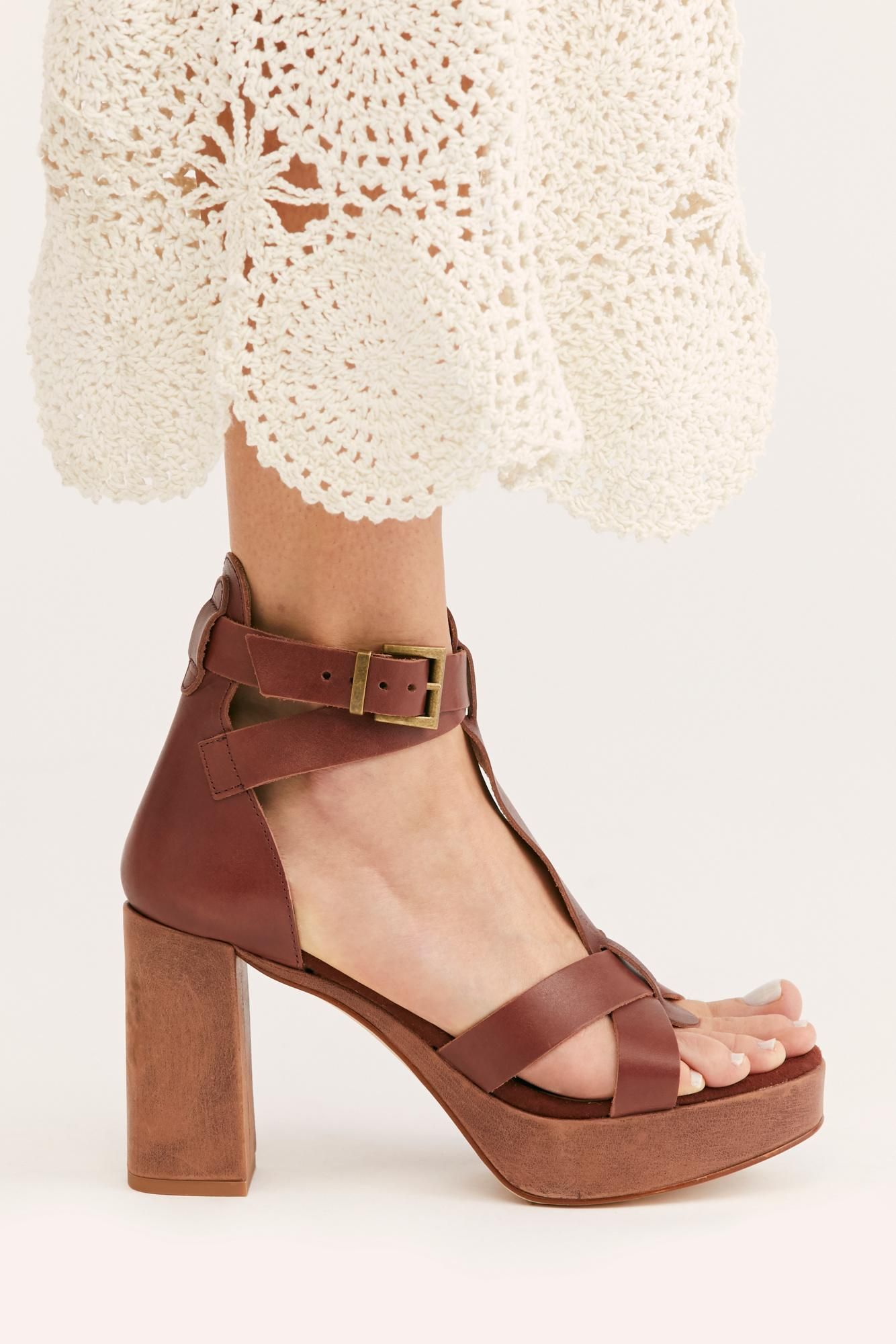 8de710279eb Lyst - Free People Party All Night Platform By Fp Collection