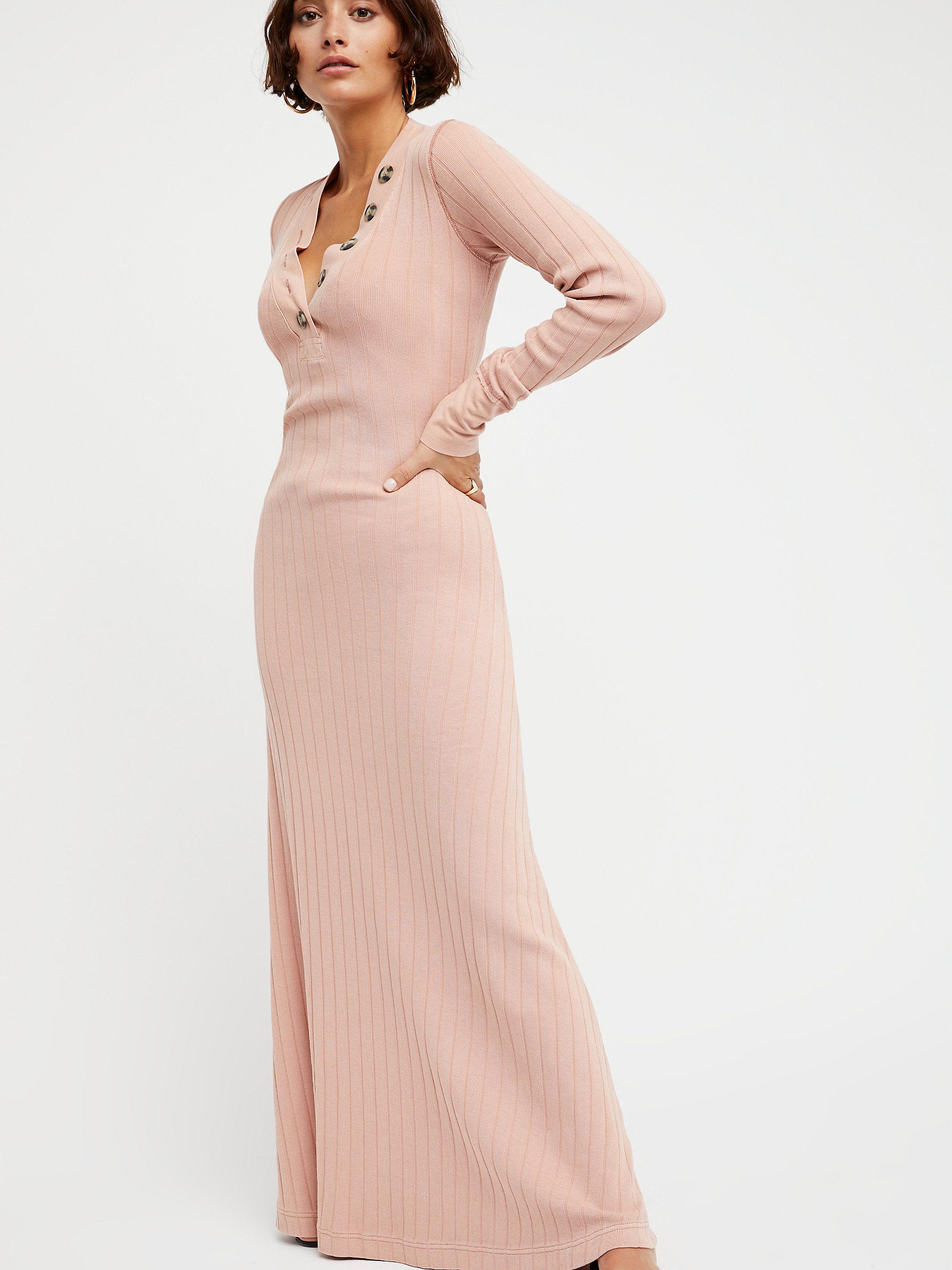 06c1f36ed19a Free People Sunflower Maxi Dress in Pink - Lyst