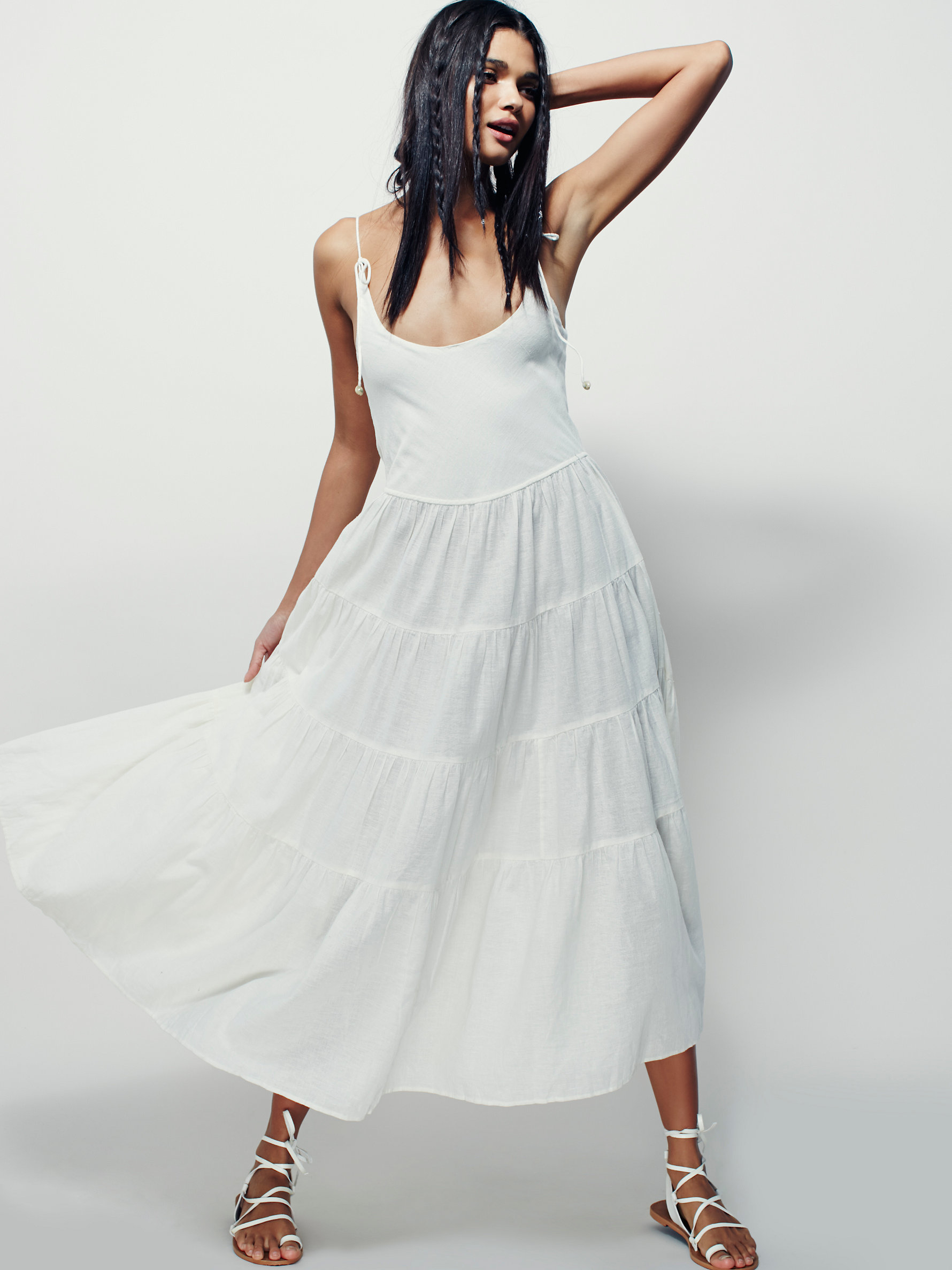 Free People Bianca Dress In White