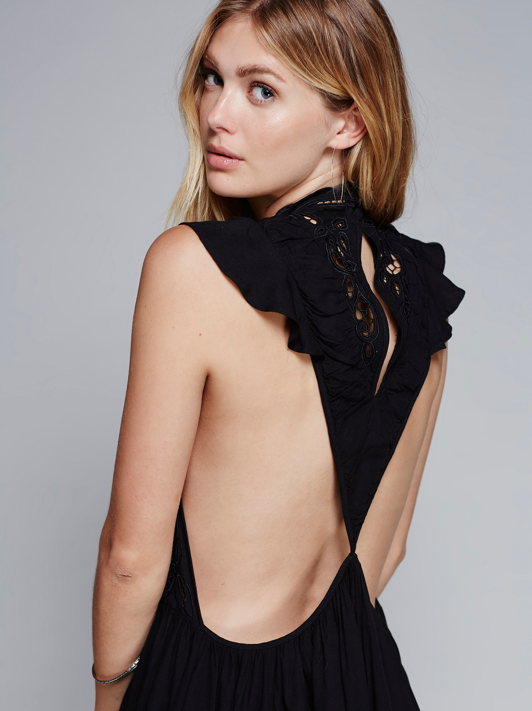 free clearly a dress in black lyst