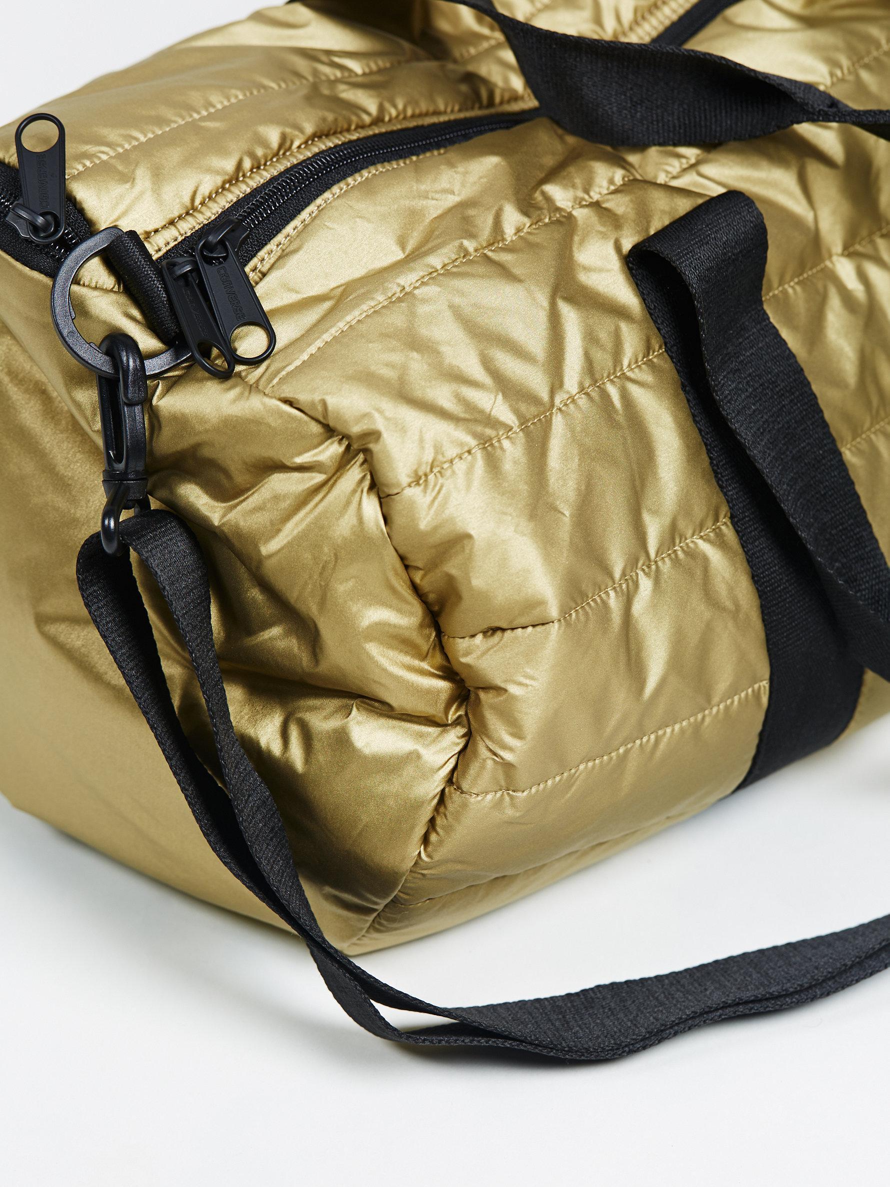 954843faff Lyst - Free People Converse Packable Duffel in Metallic