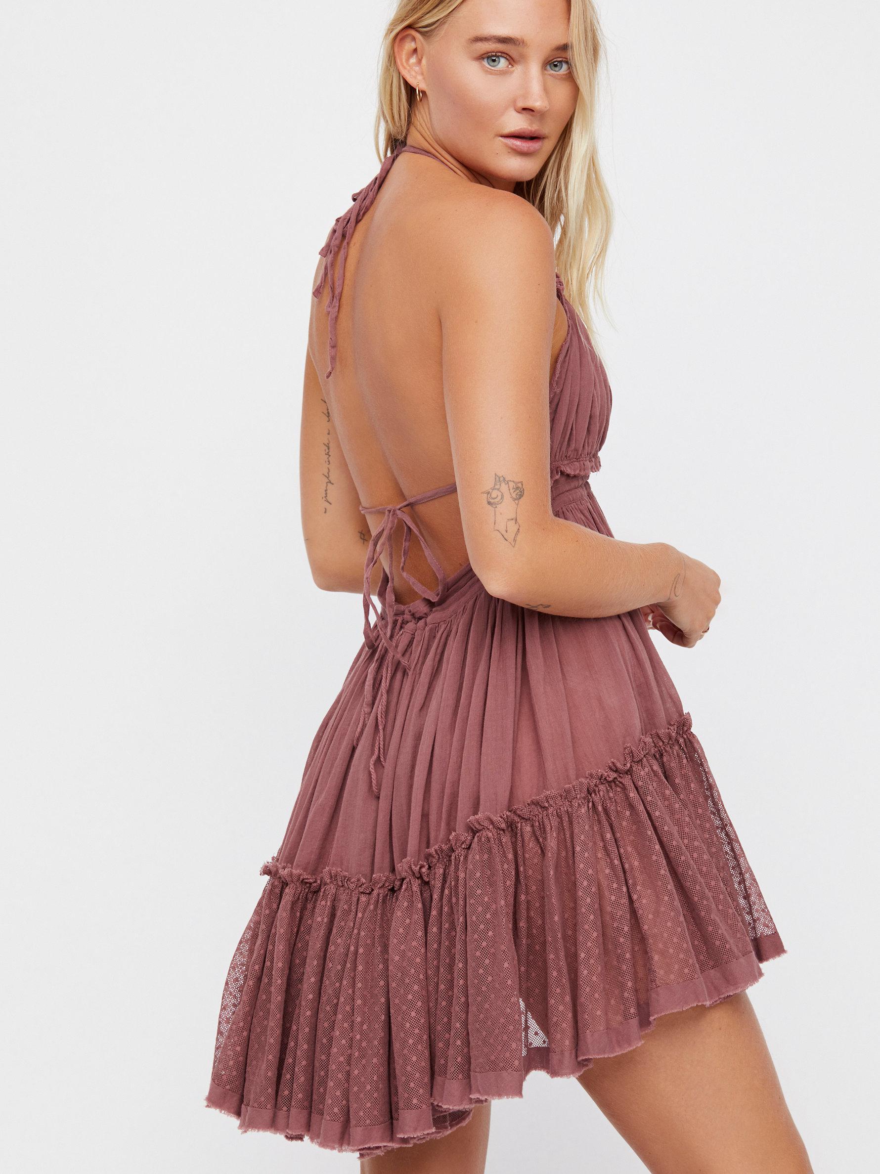 bf4c1006b107e Lyst - Free People 100 Degree Mini Dress